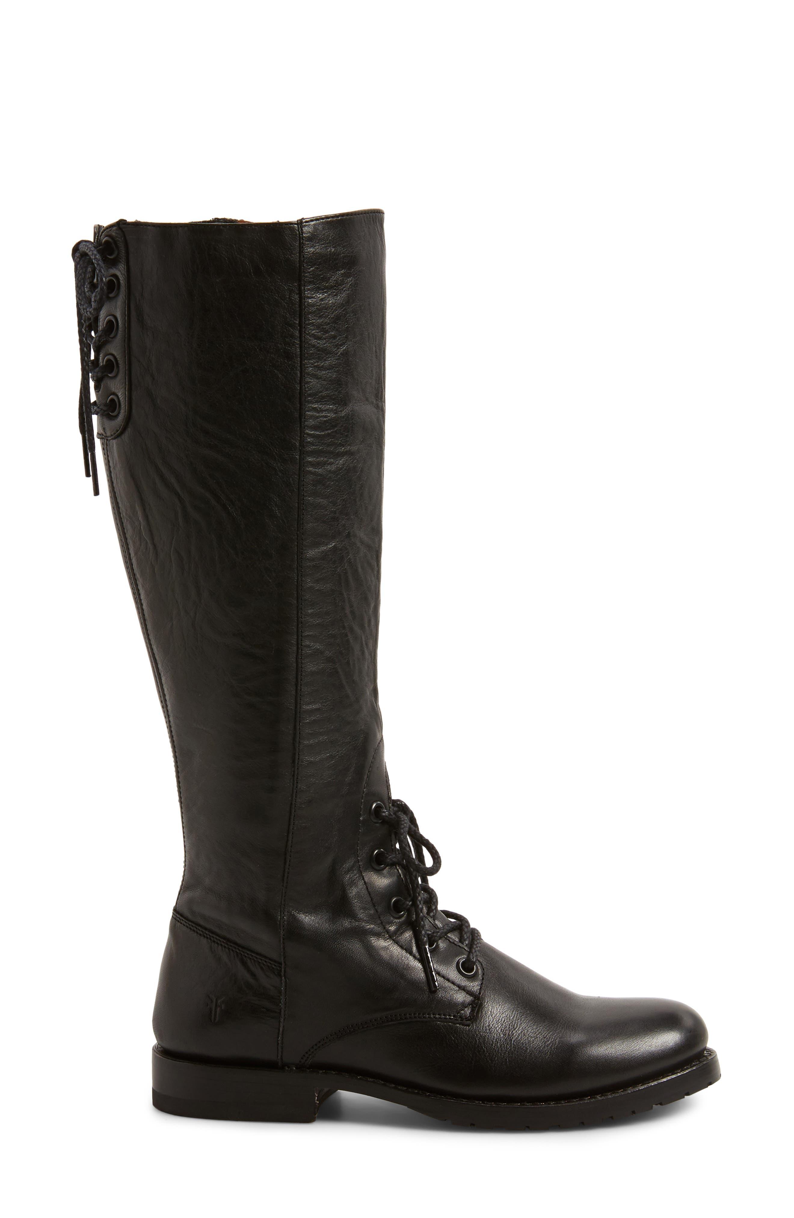 Alternate Image 3  - Frye Natalie Knee High Combat Boot (Women)