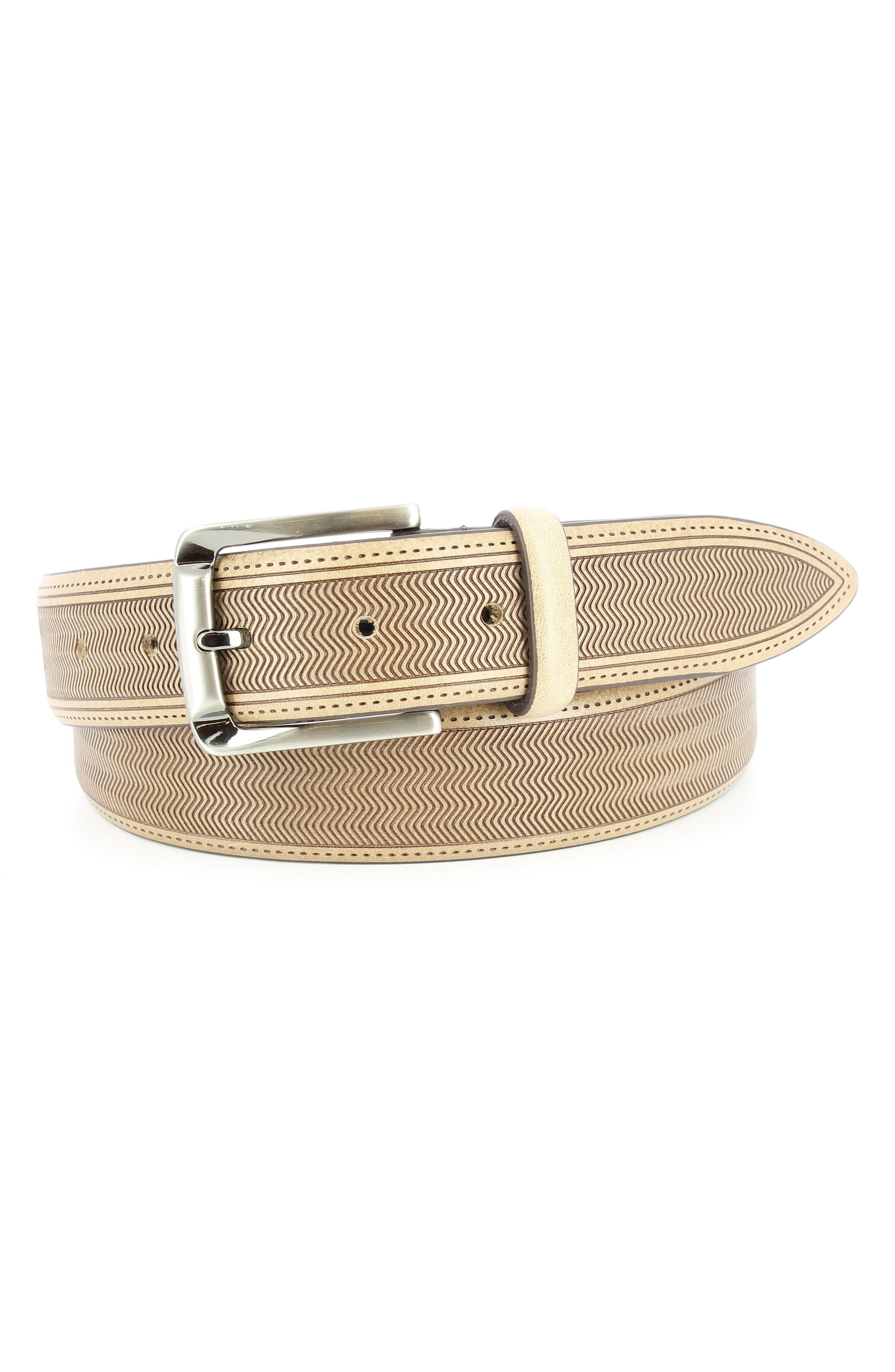 Remo Tulliani Raspail Leather Belt