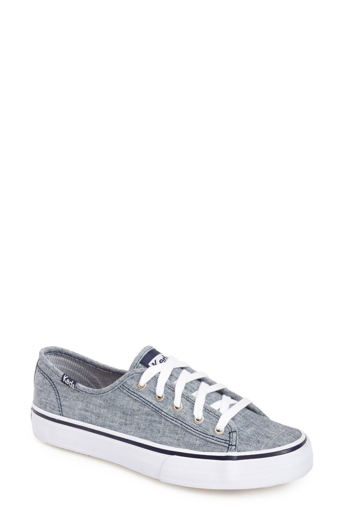 Alternate Image 1 Selected - Keds® 'Double Up - Linen' Sneaker (Women)