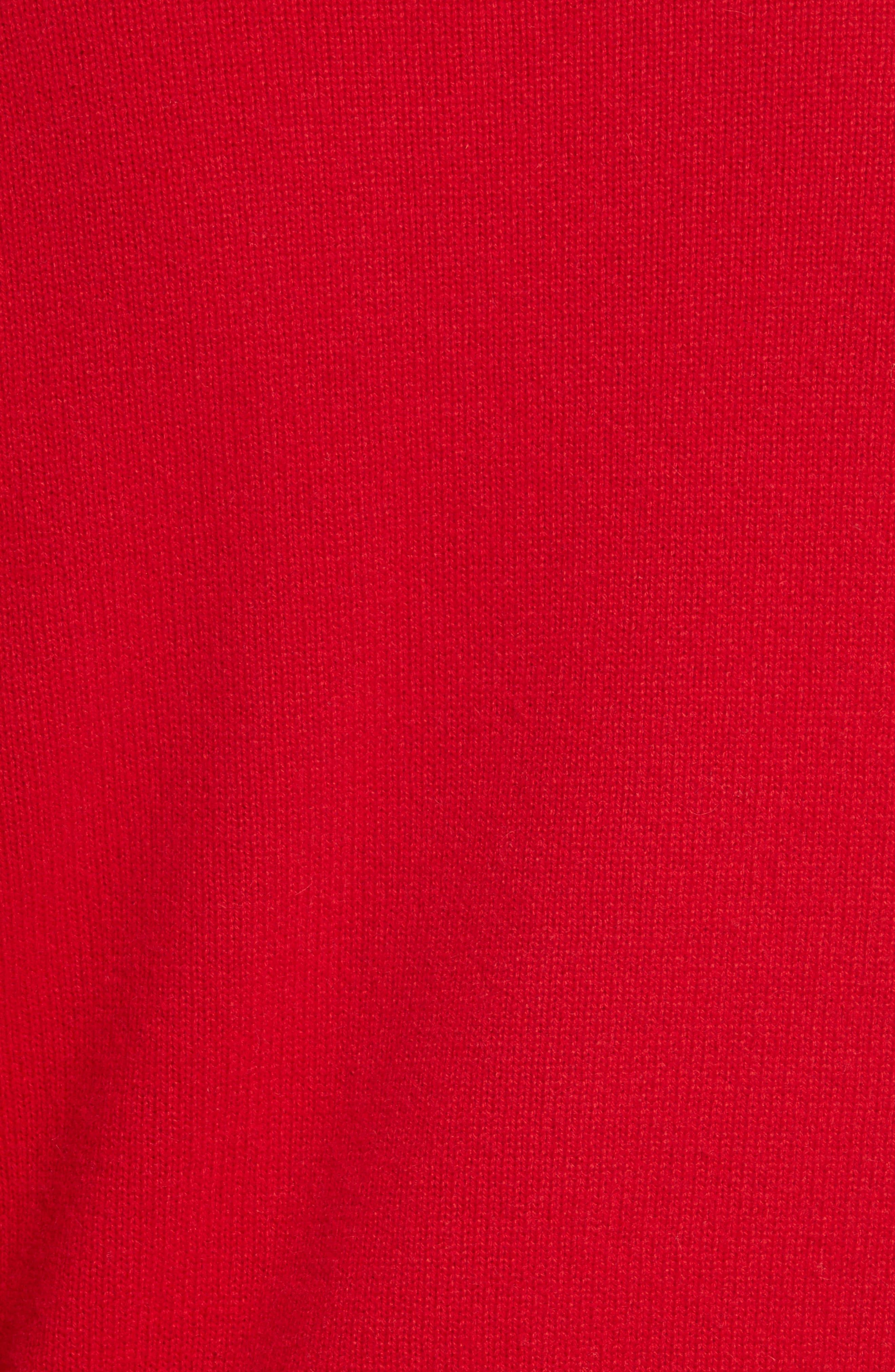 Alternate Image 5  - Allude Bold Stripe Cashmere Sweater