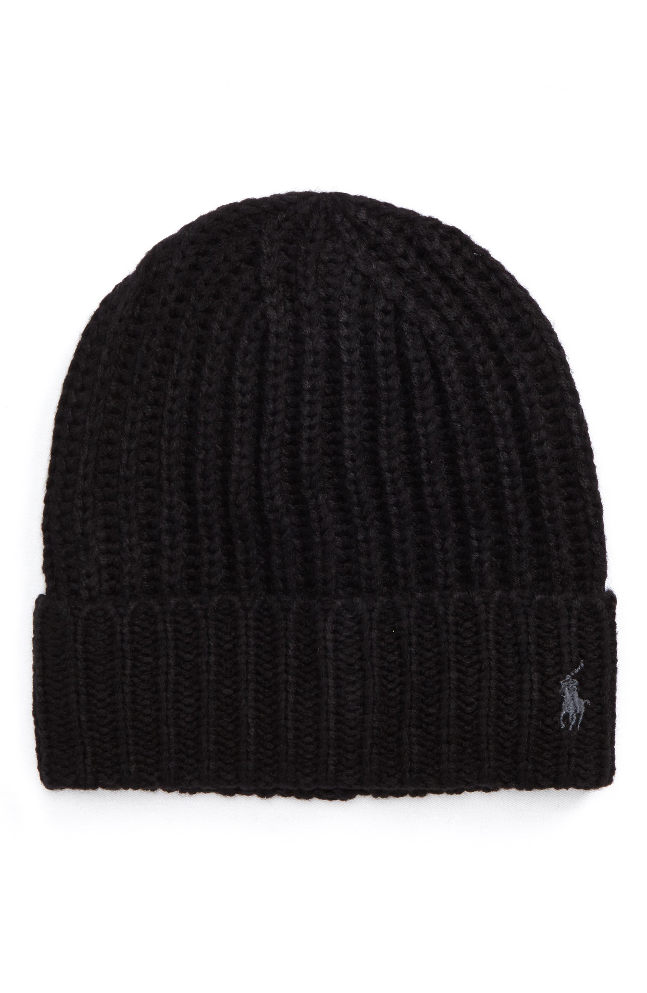 Polo Ralph Lauren Chunky Rib Knit Beanie
