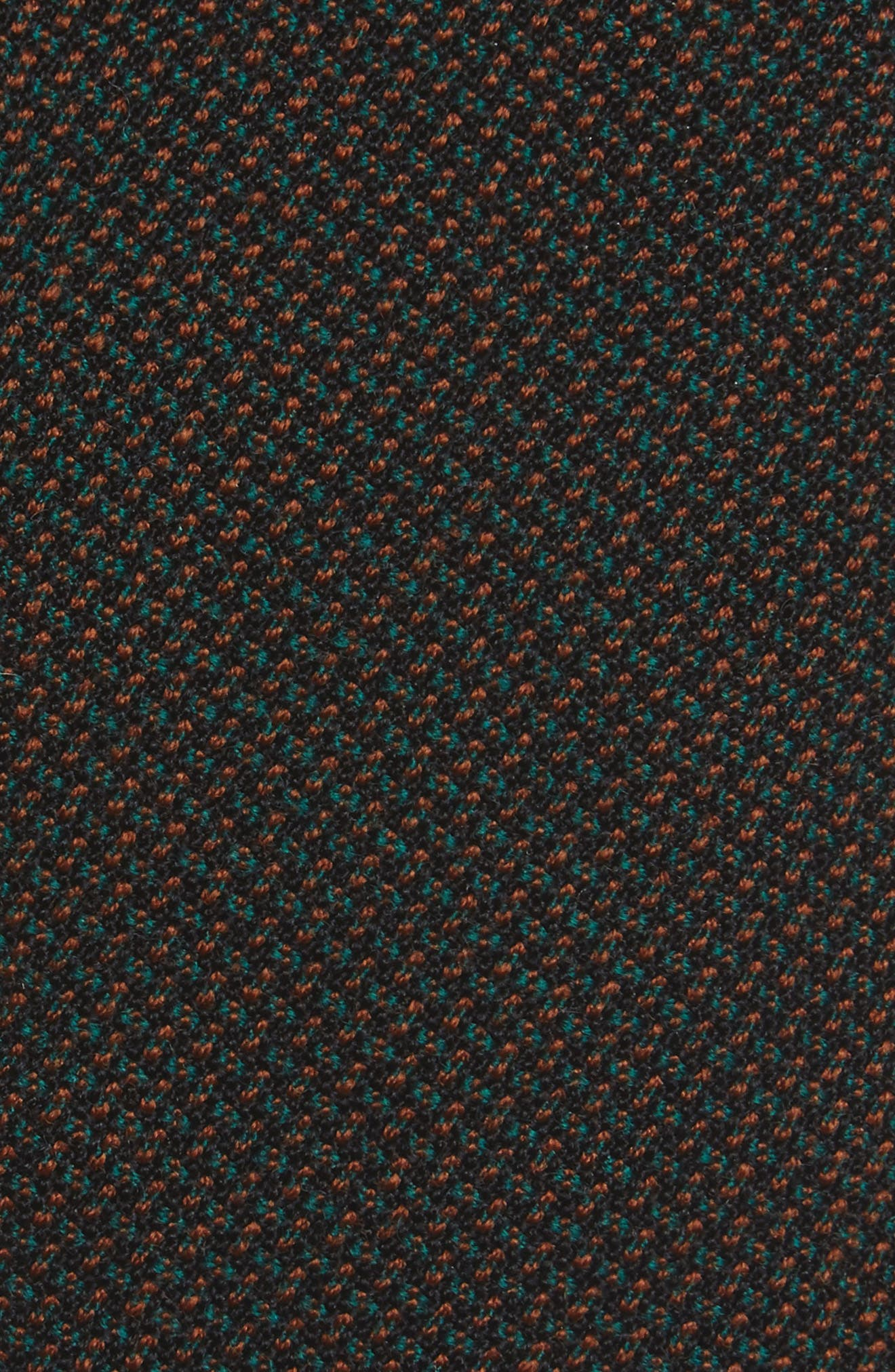 Pupil Solid Wool Skinny Tie,                             Alternate thumbnail 2, color,                             Green