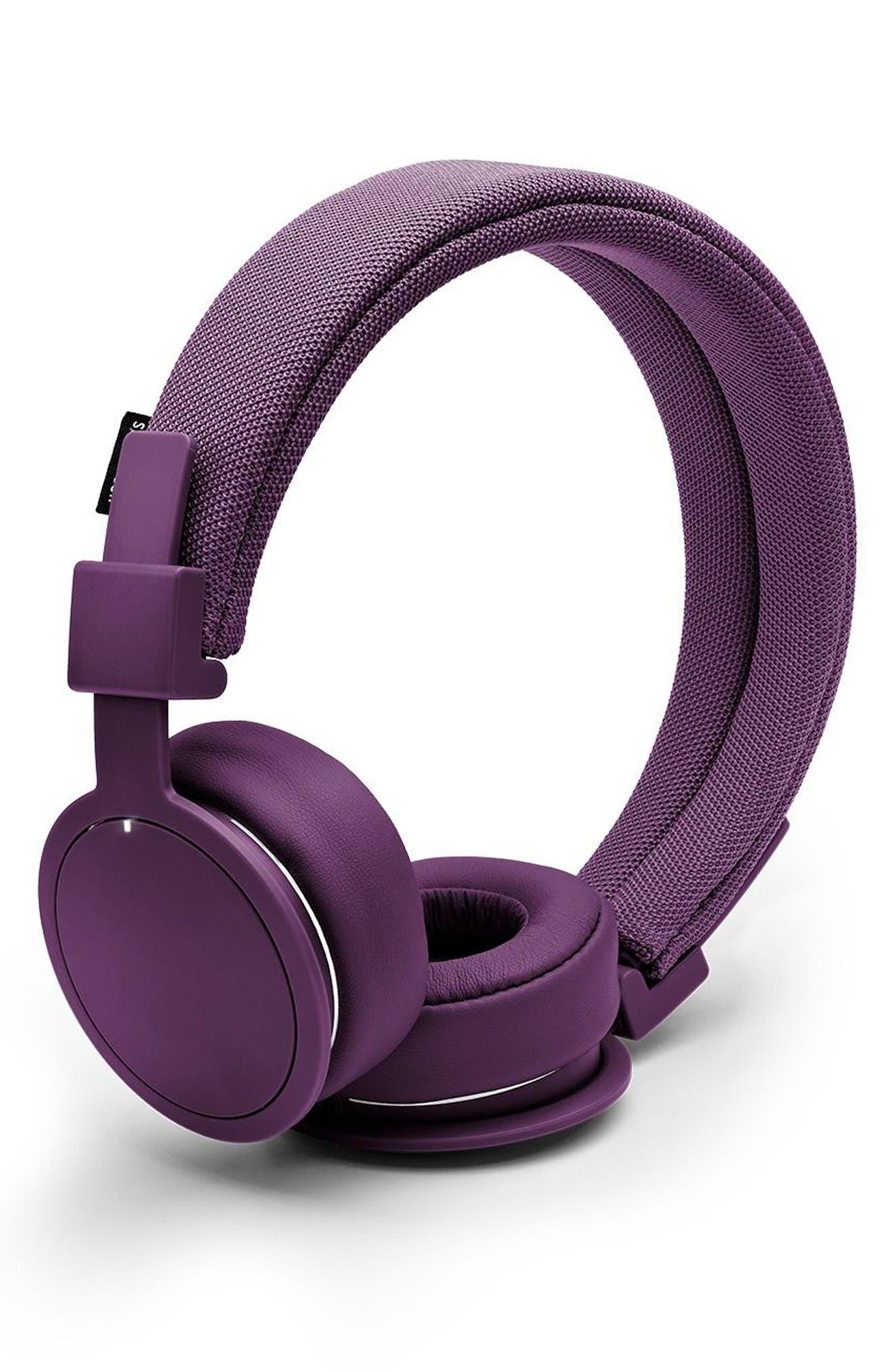 'Plattan ADV Wireless' Bluetooth<sup>®</sup> On-Ear Headphones,                         Main,                         color, Cosmos Purple