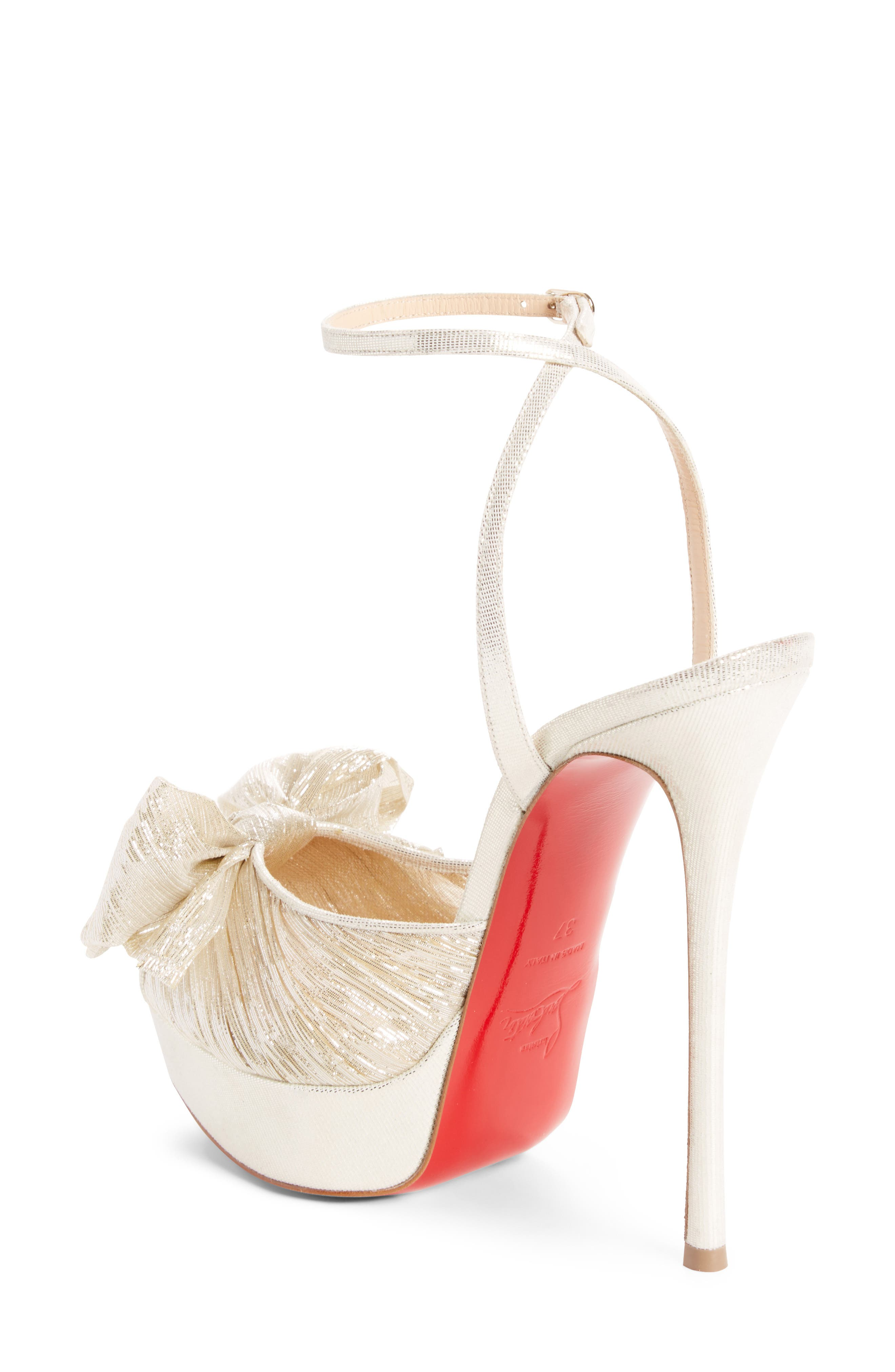 Artydiva Platform Ankle Strap Sandal,                             Alternate thumbnail 2, color,                             Platine Silver