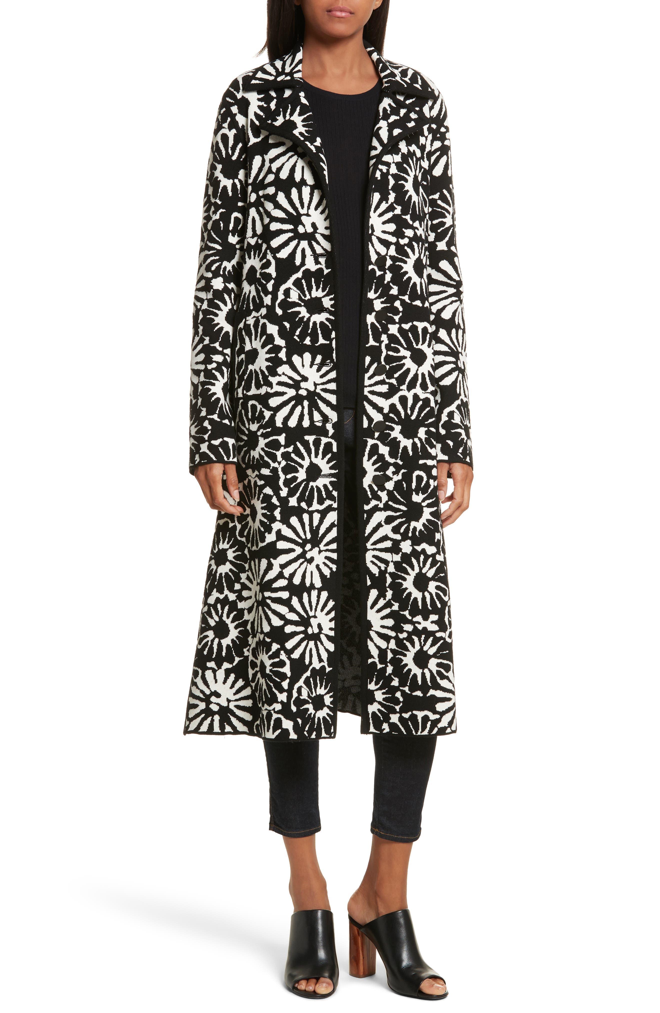 Tory Burch Rosalie Sweater Coat