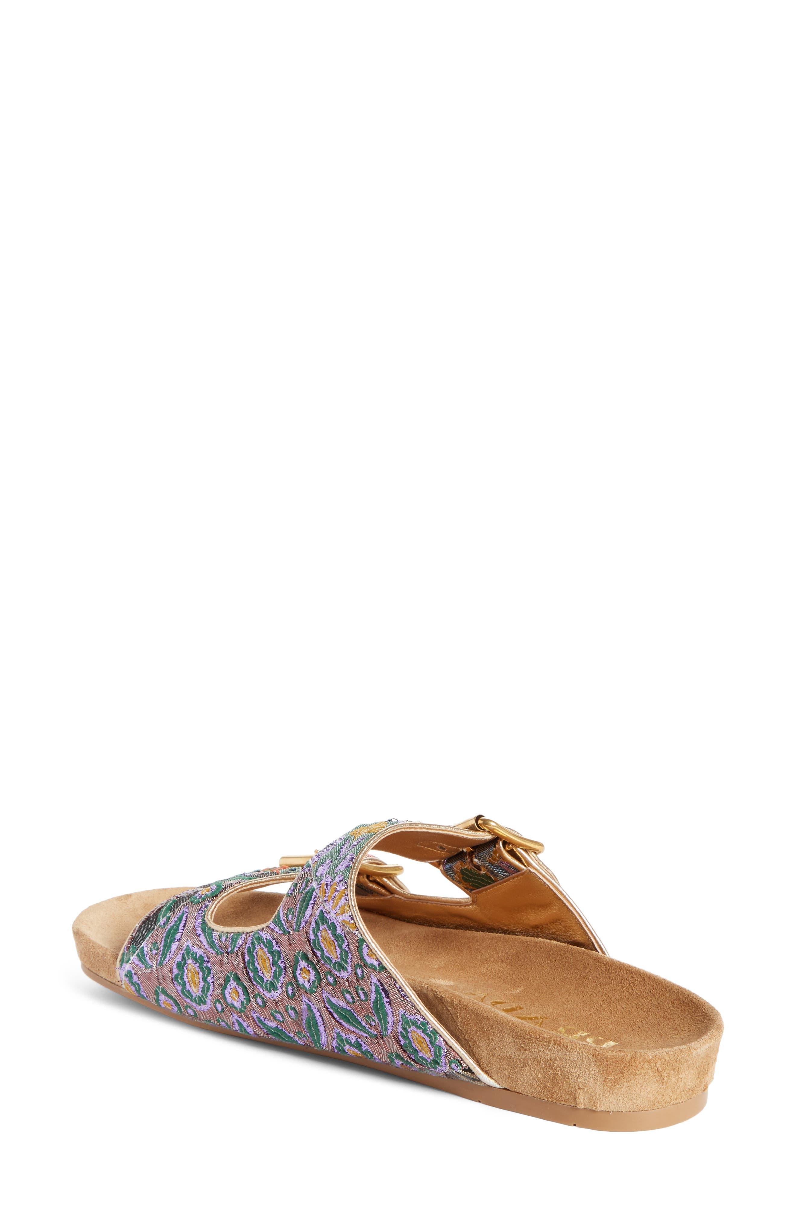 Alternate Image 2  - Prada Glitter Slide Sandal (Women)