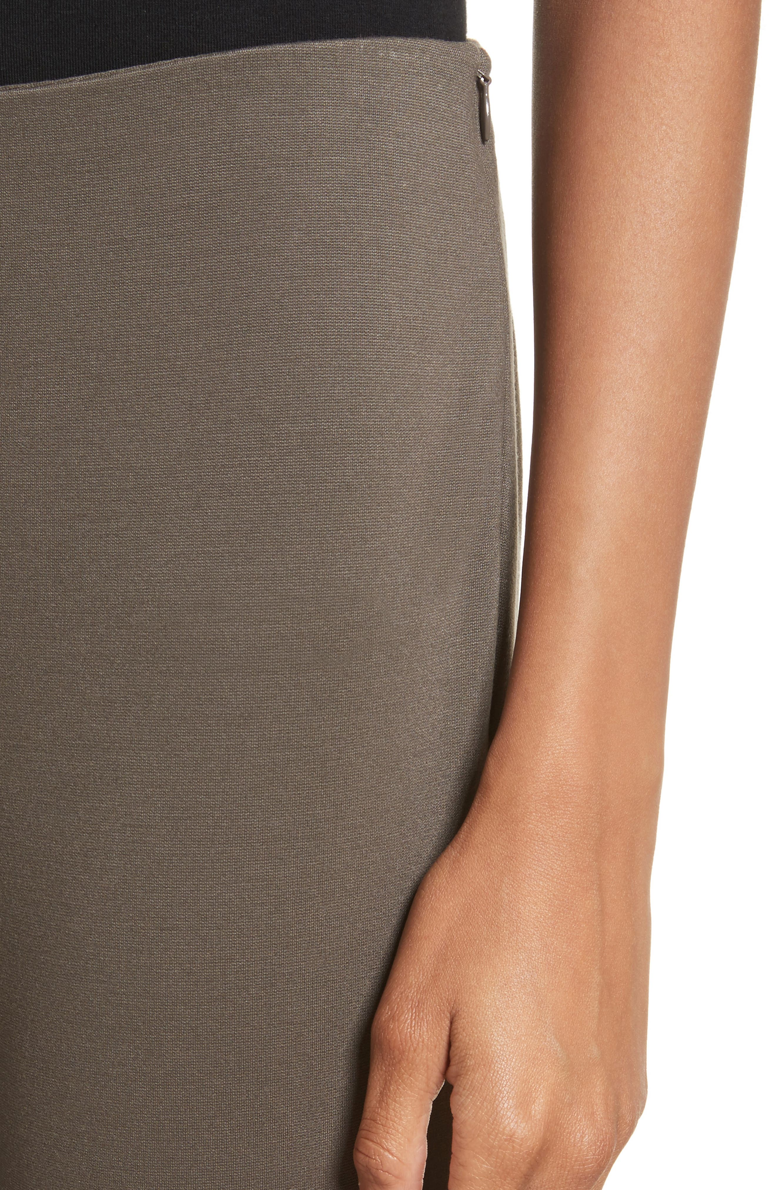 Alternate Image 5  - Lafayette 148 New York Heyward Punto Milano Slim Pants (Regular & Petite)
