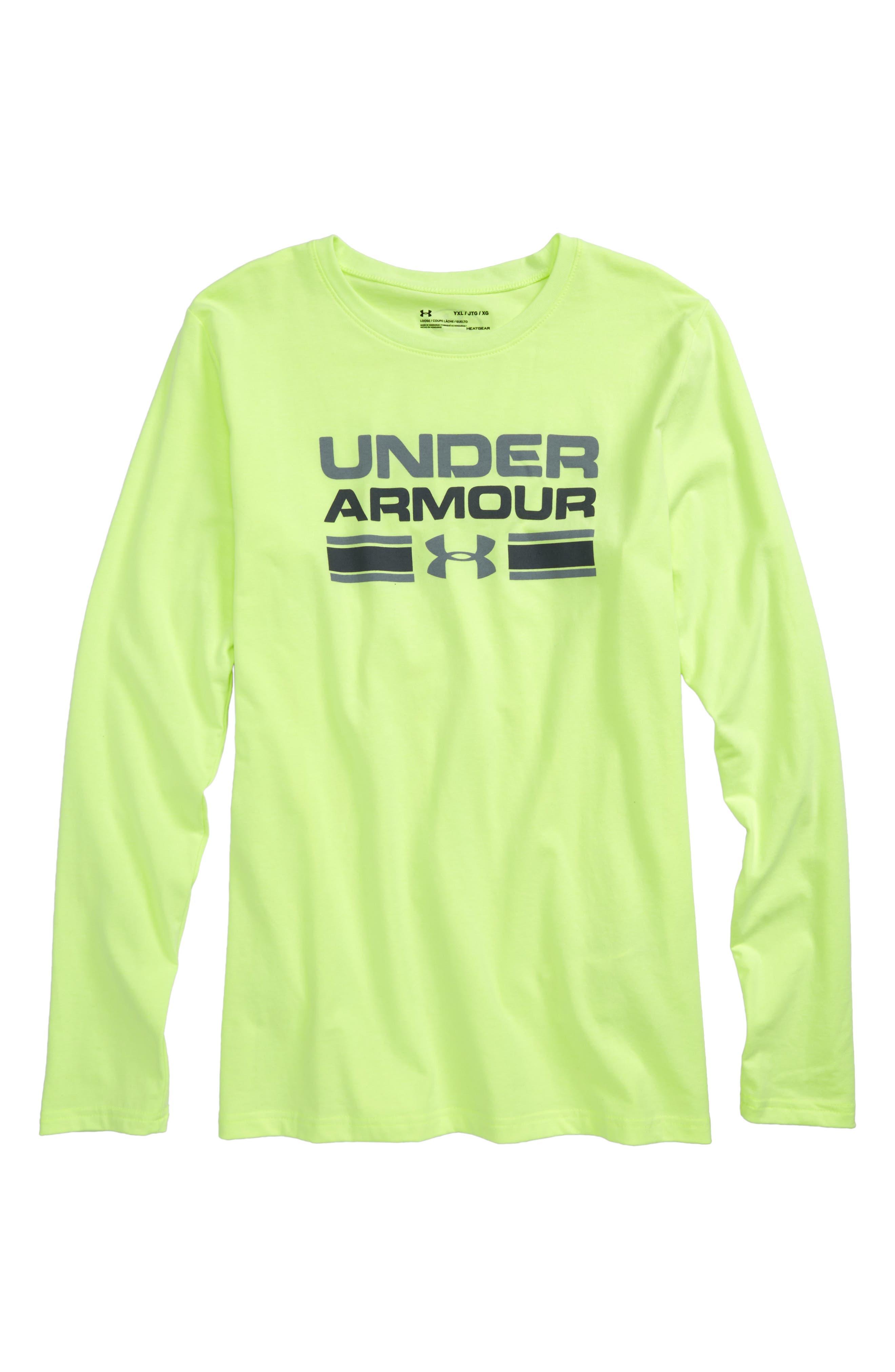 Under Armour Crossbar Logo Graphic T-Shirt (Big Boys)