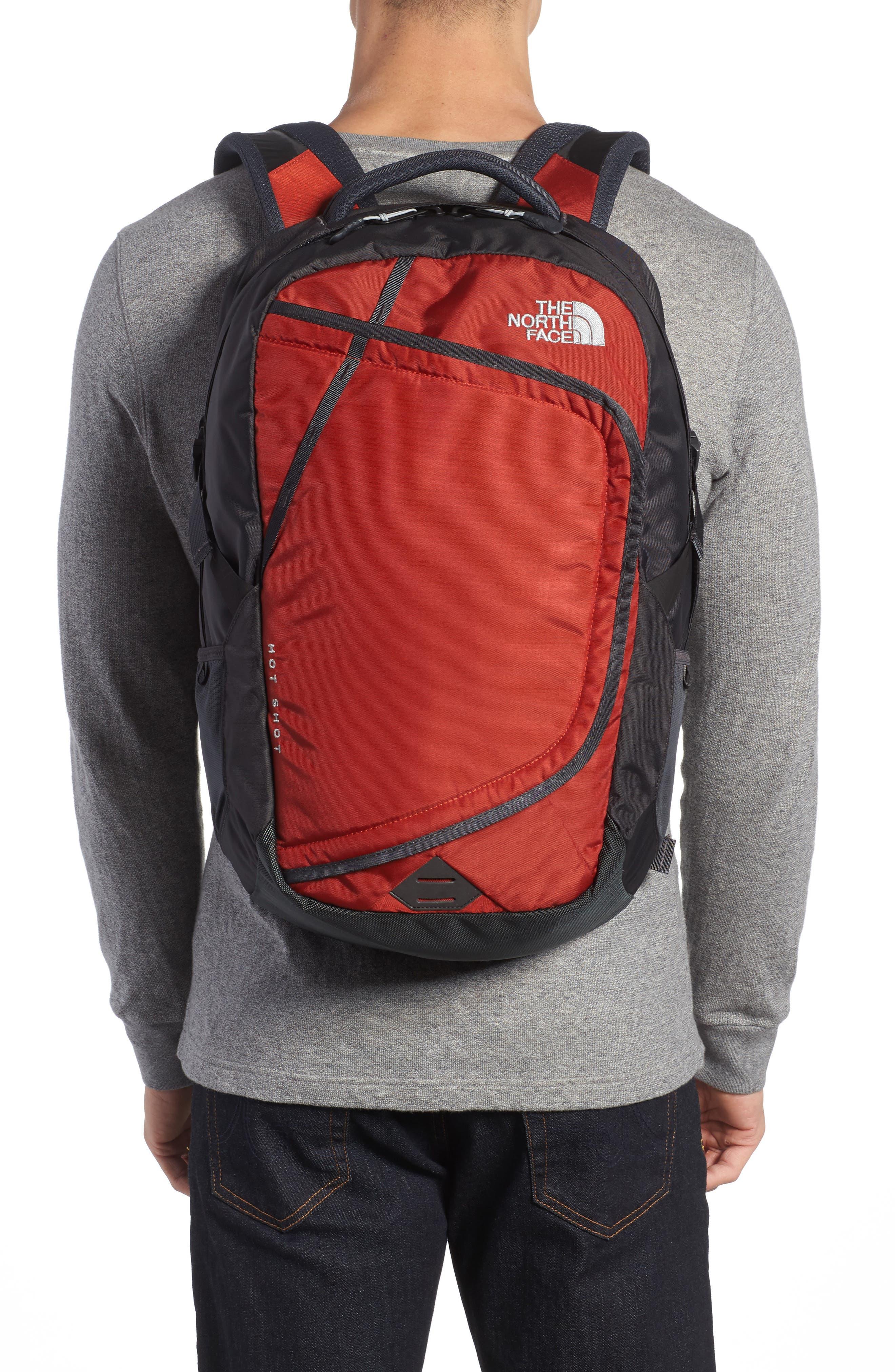 Hot Shot Backpack,                             Alternate thumbnail 2, color,                             Ketchup Red/ Asphalt Grey
