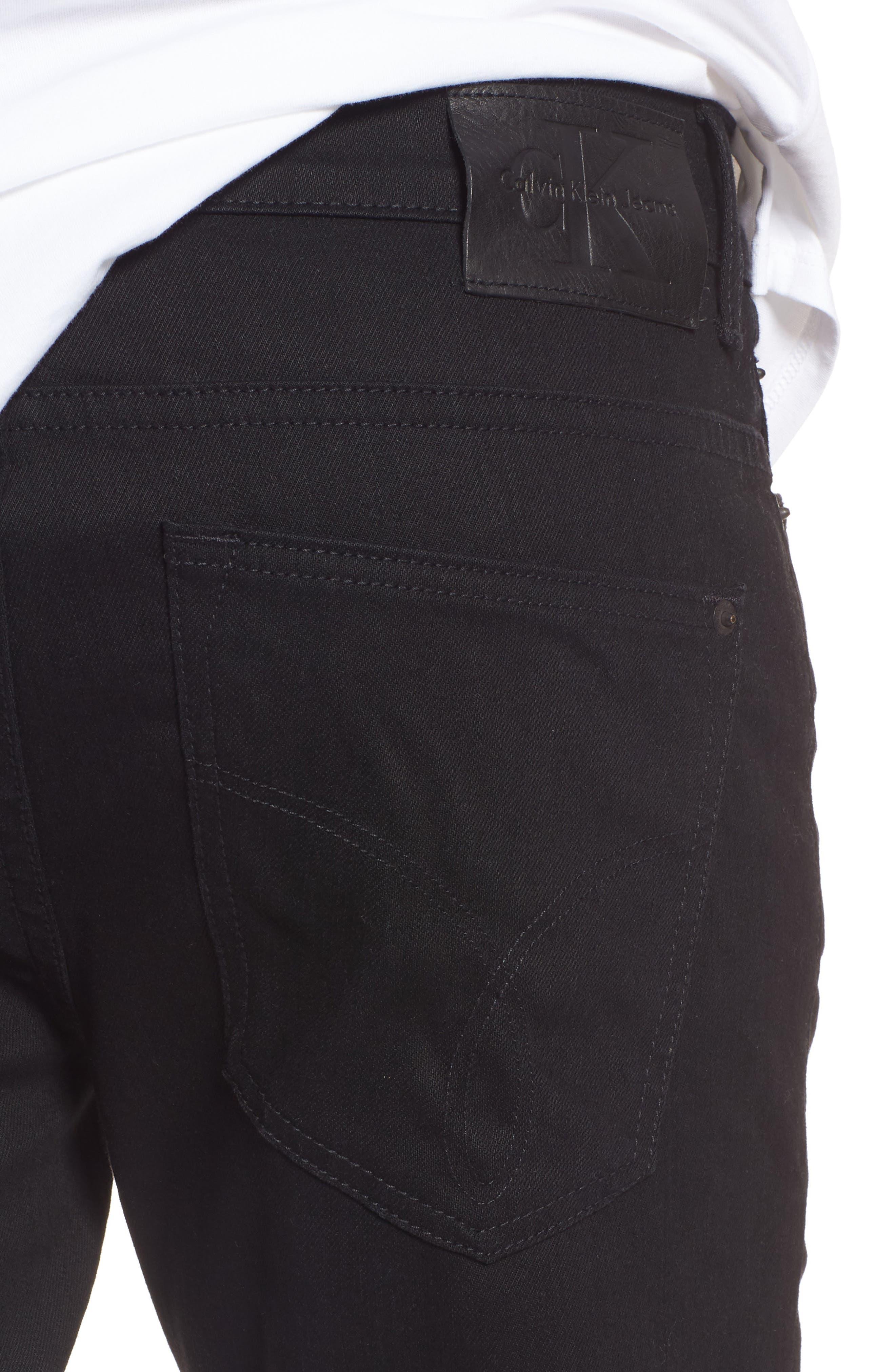 Alternate Image 4  - Calvin Klein Skinny Jeans