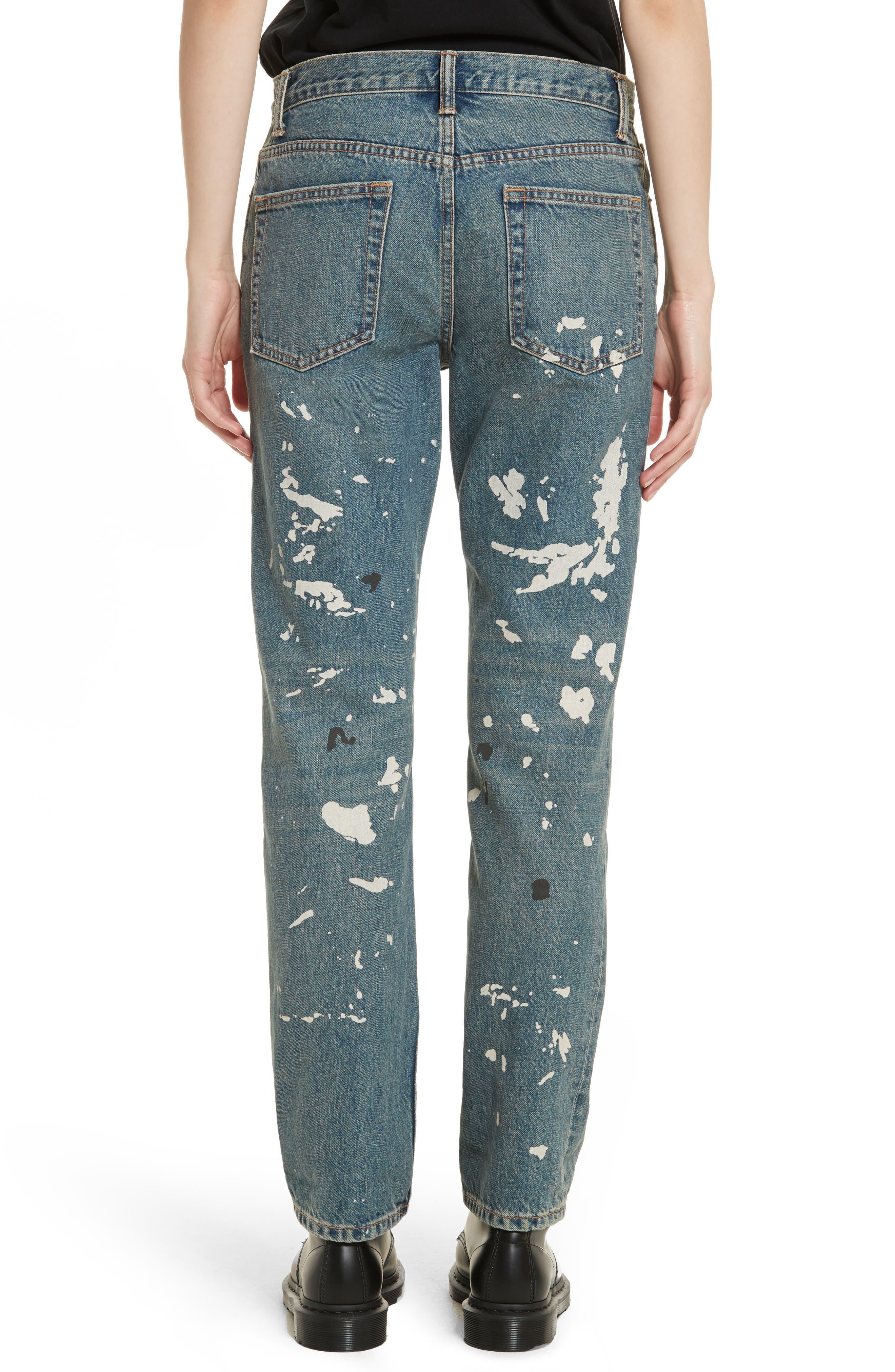 Re-Edition Painter Jeans,                             Alternate thumbnail 3, color,                             Paint Splatter