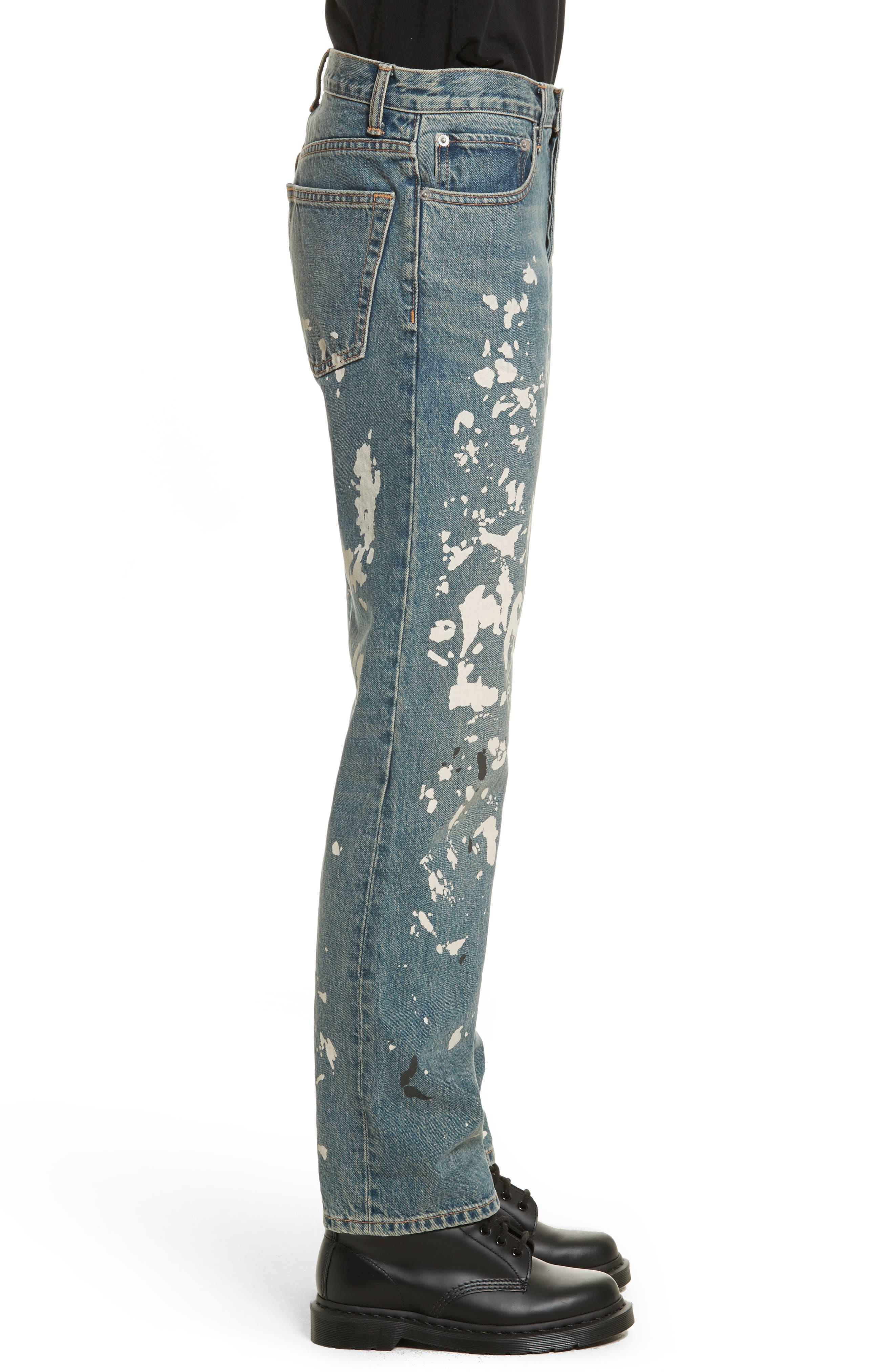 Re-Edition Painter Jeans,                             Alternate thumbnail 5, color,                             Paint Splatter