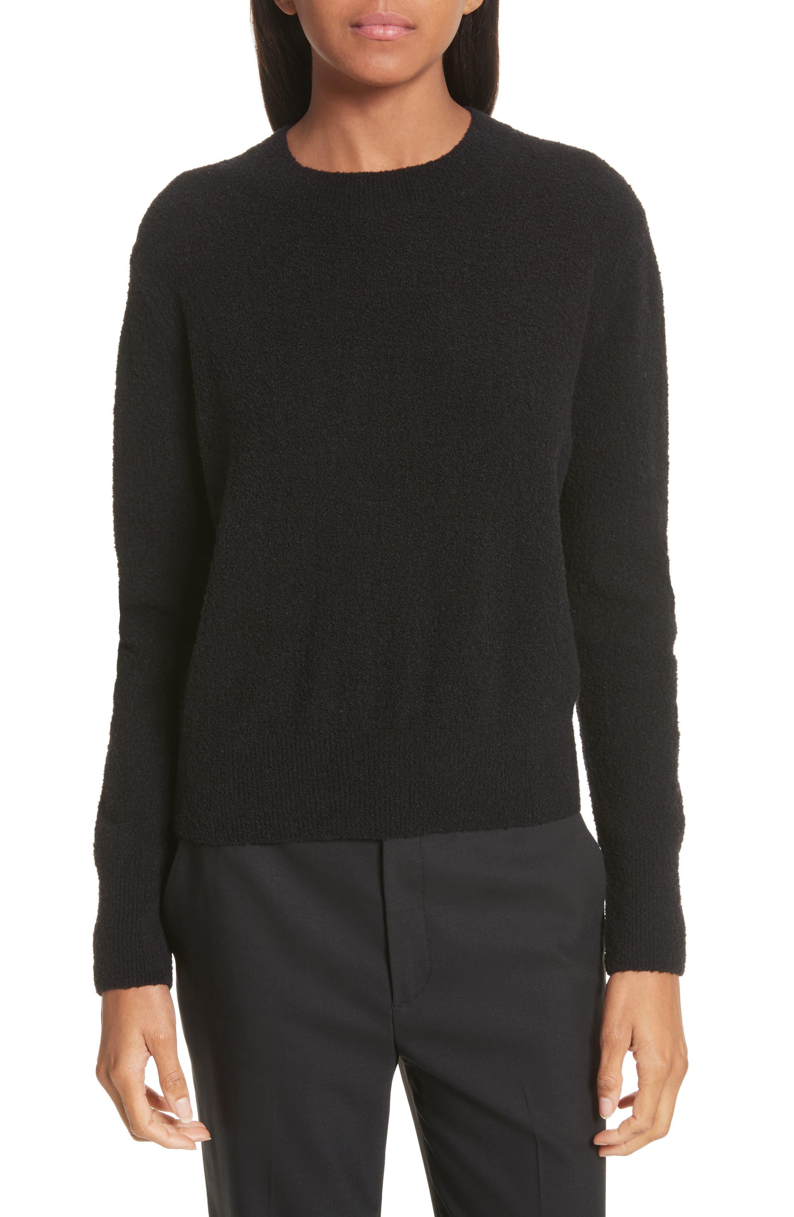 Vince Crewneck Wool Blend Sweater
