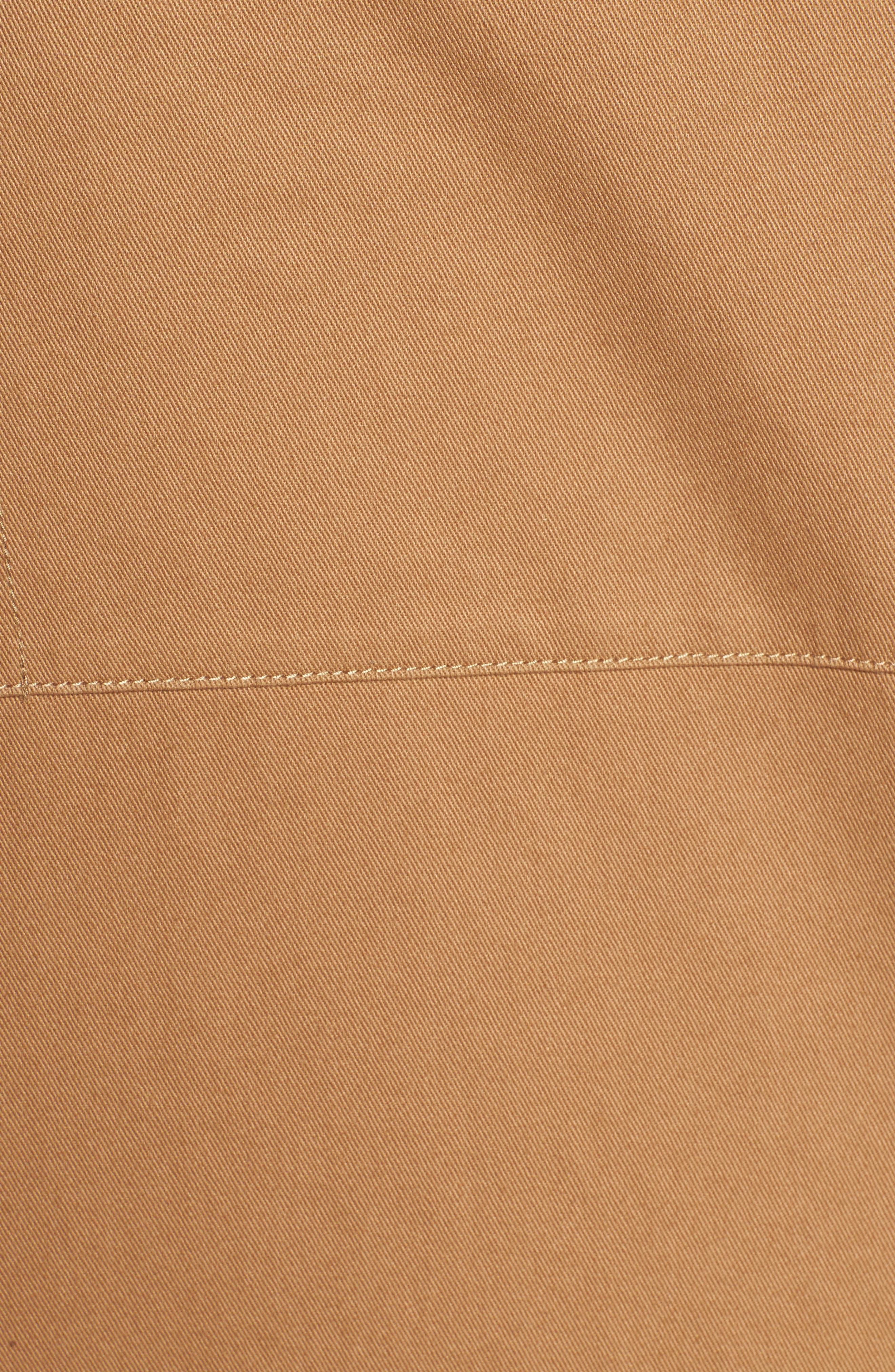 Woodside Twill Shirt,                             Alternate thumbnail 5, color,                             Sand