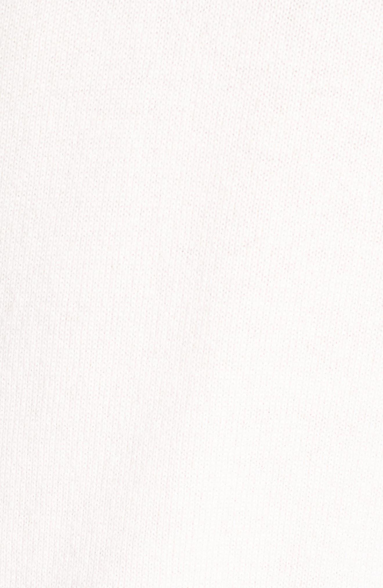 Stripe Sweater,                             Alternate thumbnail 5, color,                             White Multi