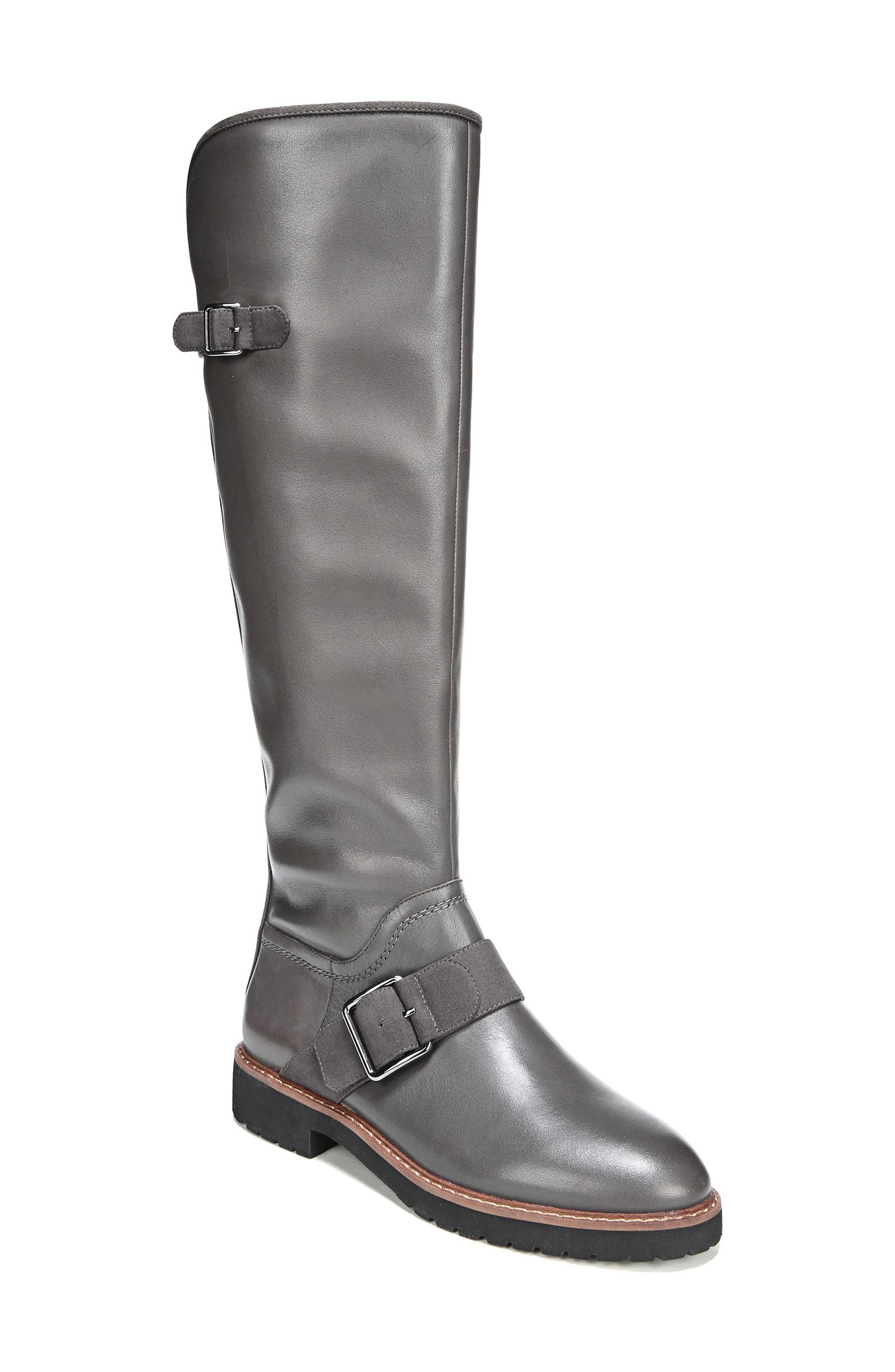 Cutler Riding Boot,                         Main,                         color, Peat Leather