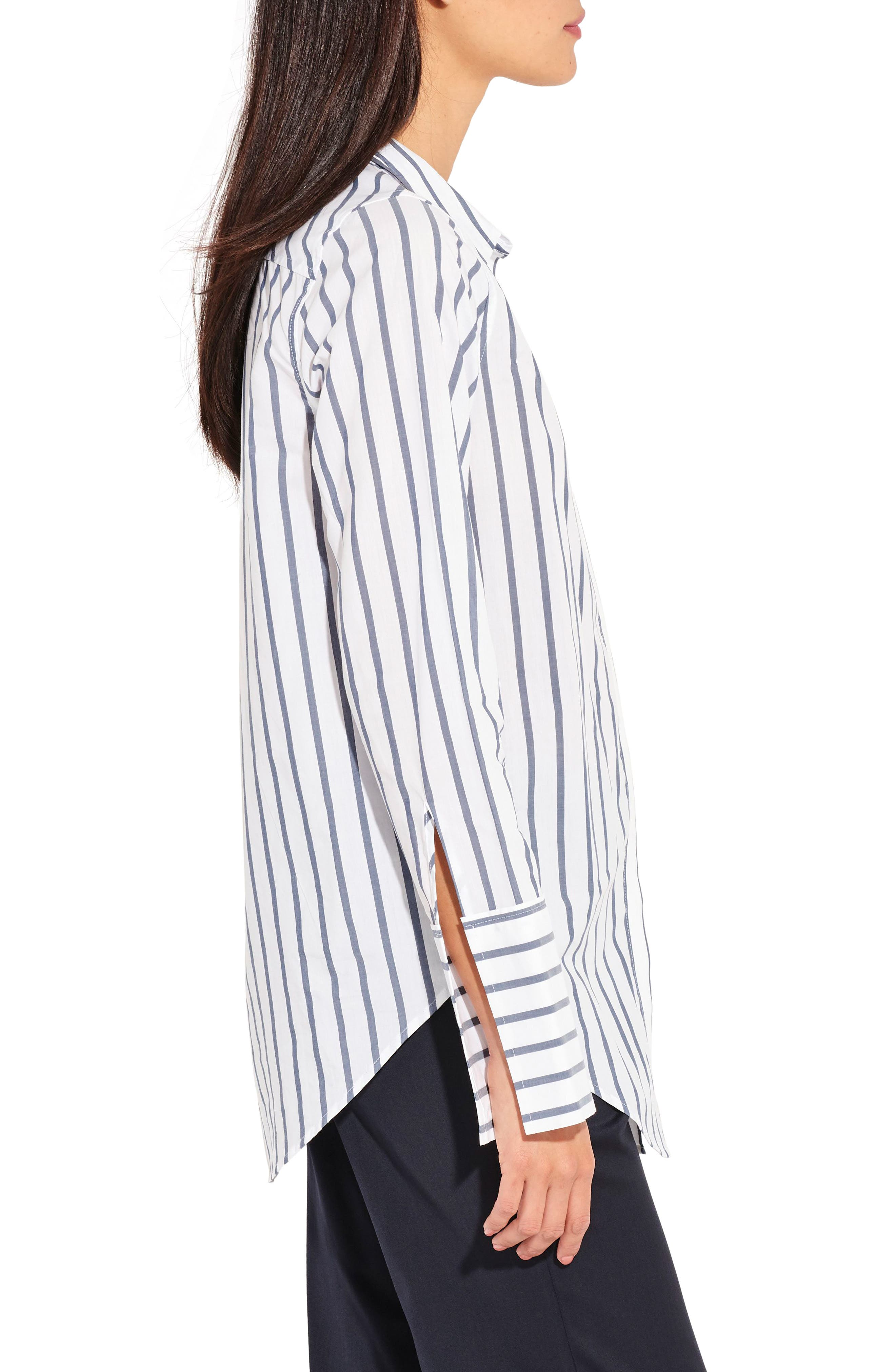 Alternate Image 4  - AYR The Great Hope Stripe Shirt