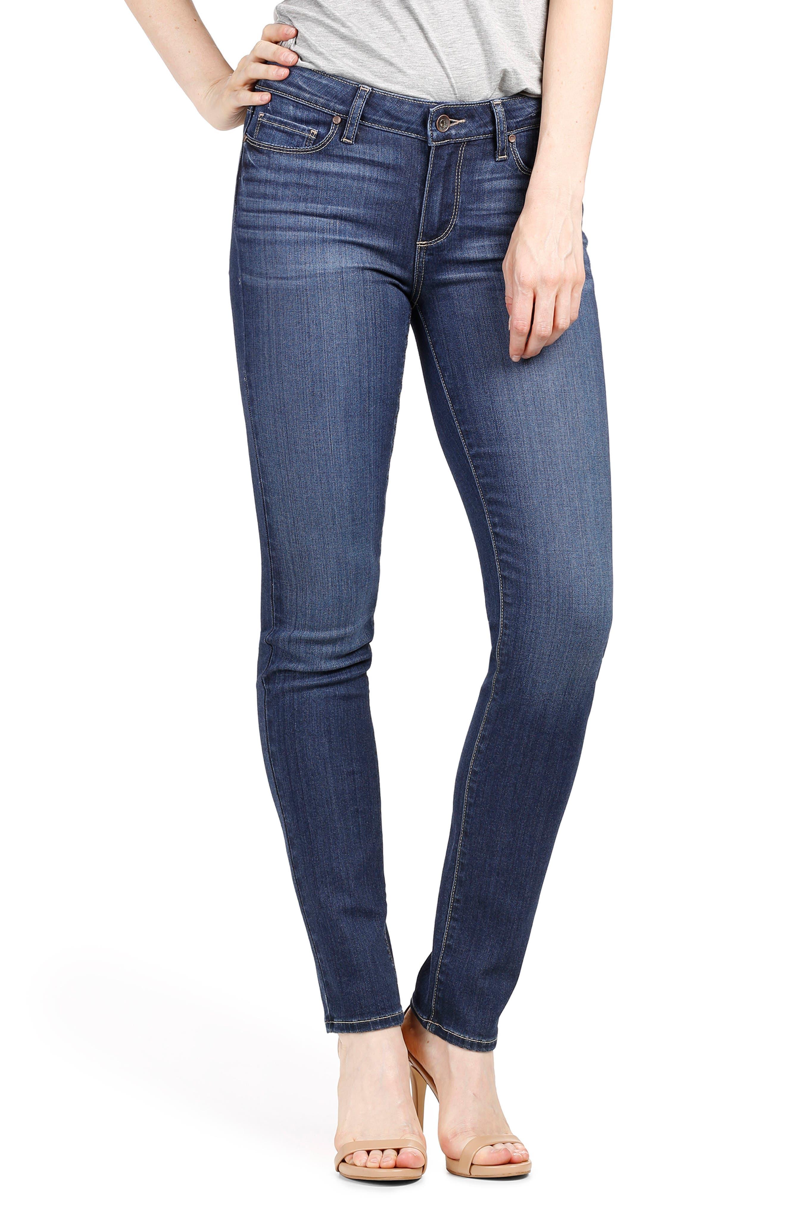 Transcend - Skyline Skinny Jeans,                             Main thumbnail 1, color,                             Blue