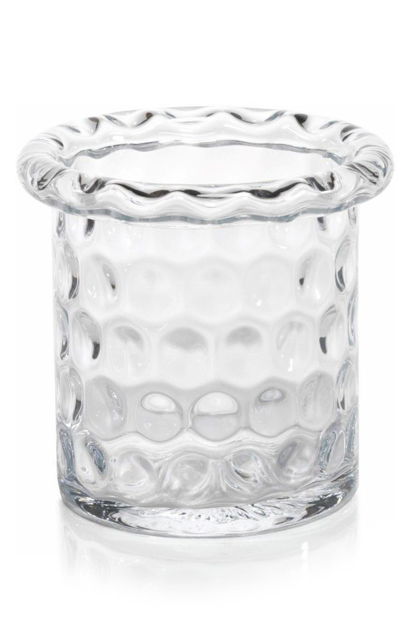 Ravello Glass Ice Bucket,                         Main,                         color, Clear