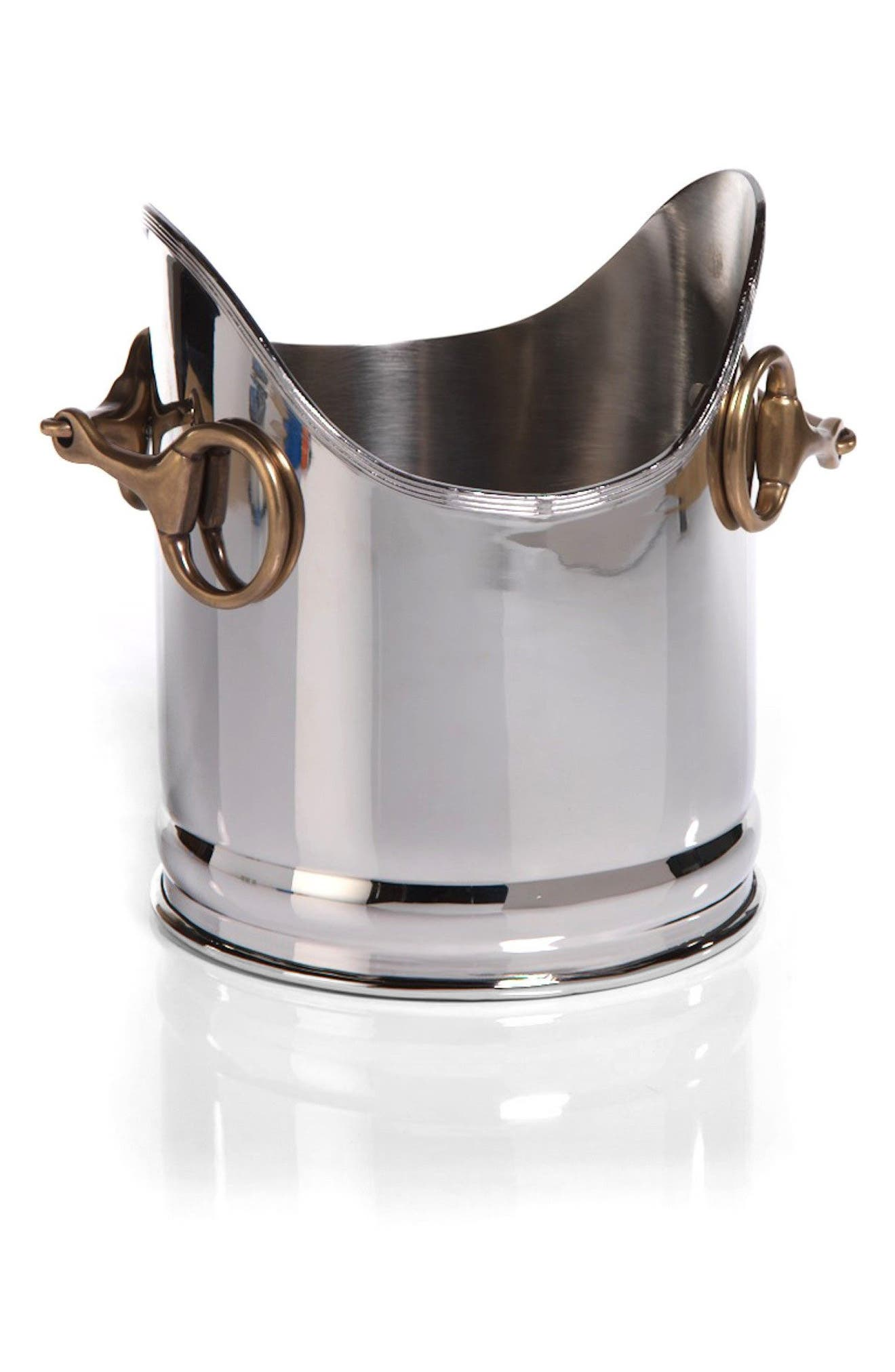 Imani Wine Bucket,                         Main,                         color, Silver