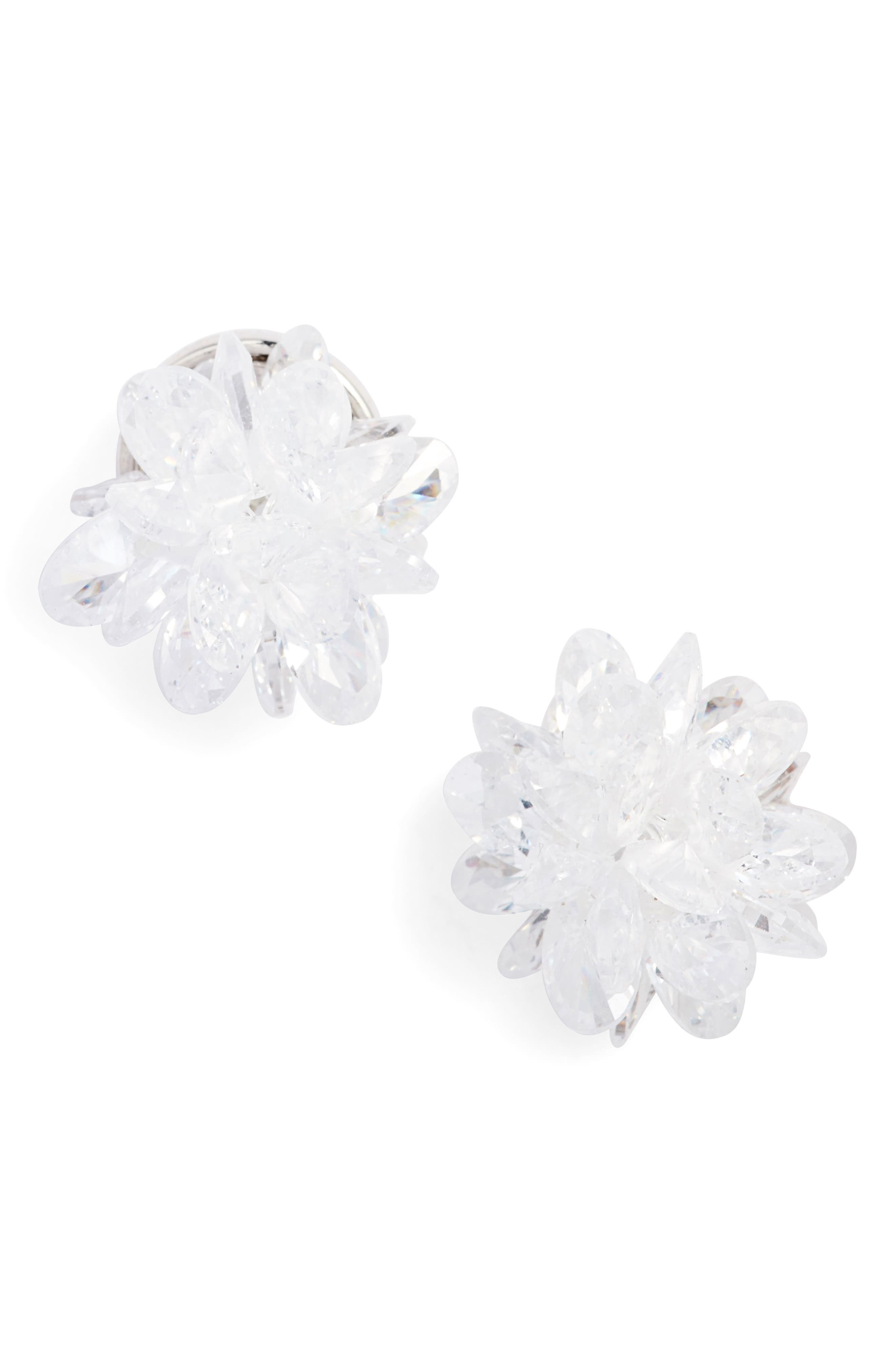 flying colors rock candy stud earrings,                         Main,                         color, Clear