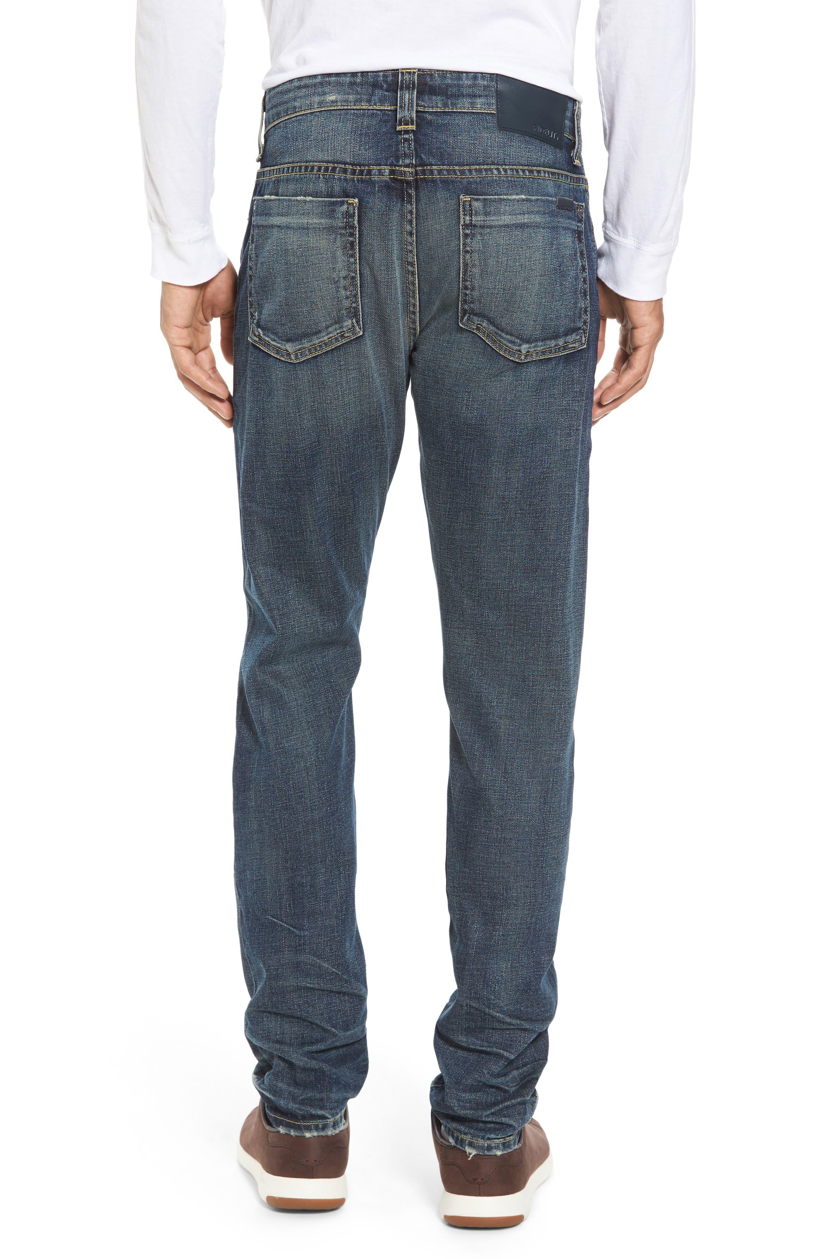 Fideltiy Denim Torino Slim Fit Jeans,                             Alternate thumbnail 2, color,                             Crystal Blue