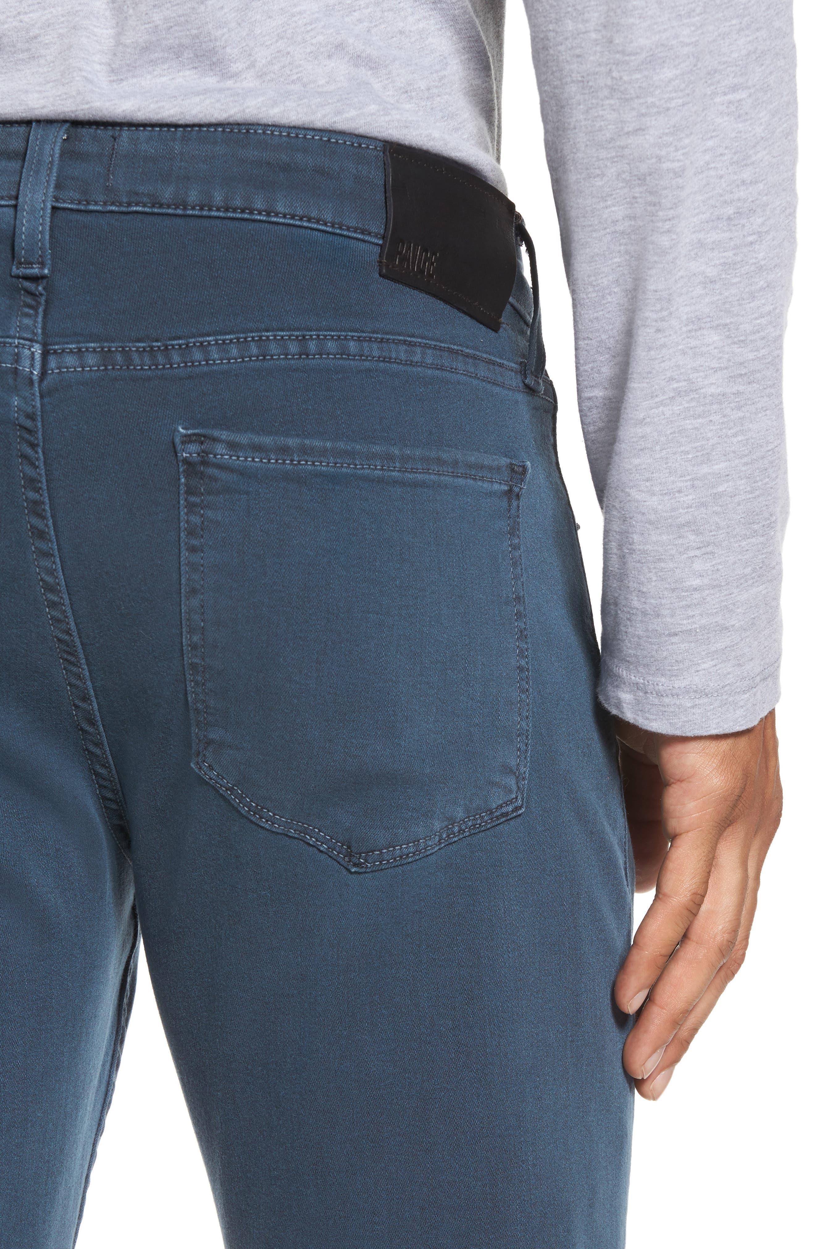 Alternate Image 4  - PAIGE Transcend - Federal Slim Straight Fit Jeans (Vintage Amalfi)