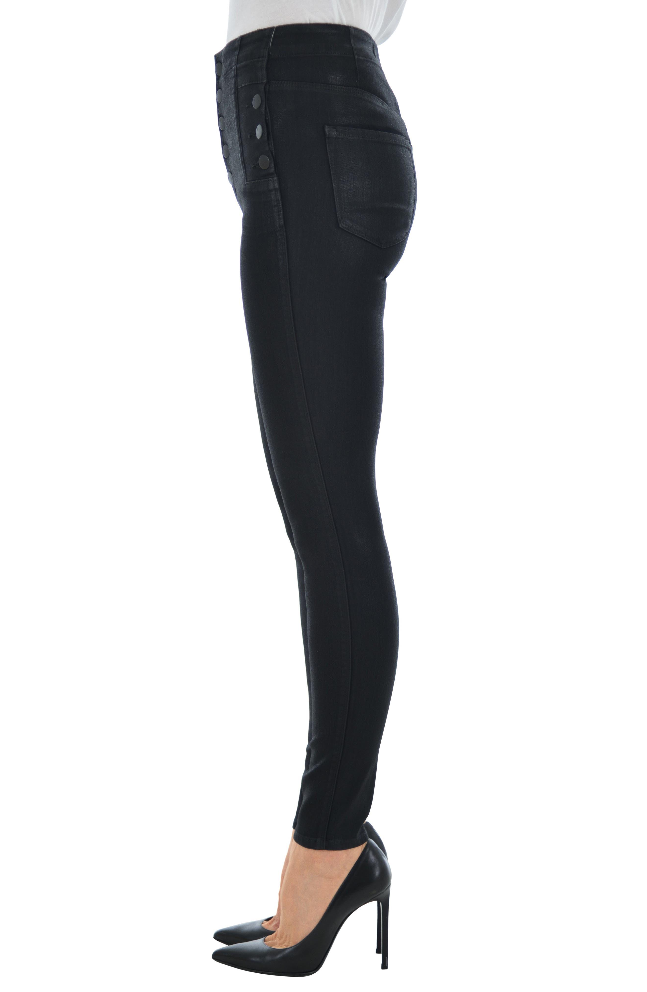 Alternate Image 3  - J Brand Natasha Sky High Skinny Jeans (Fearless)
