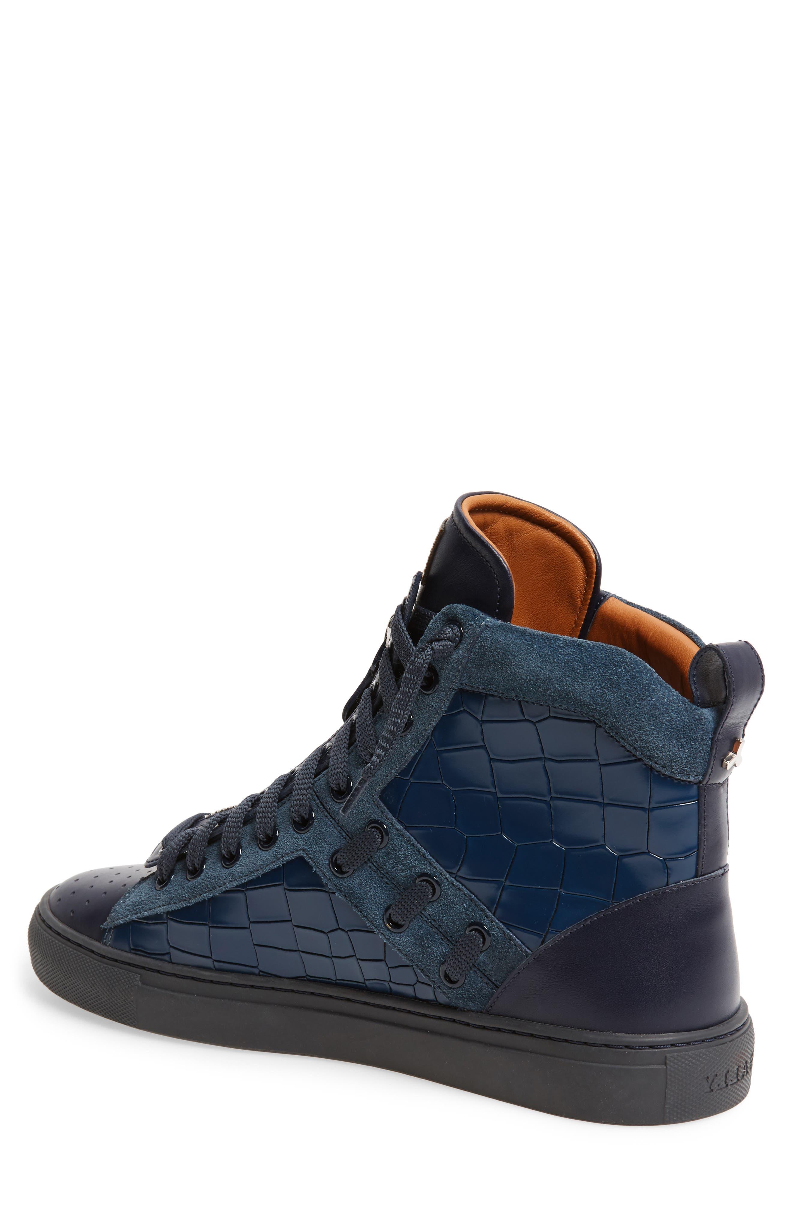 Hekem High-Top Sneaker,                             Alternate thumbnail 2, color,                             Ocean