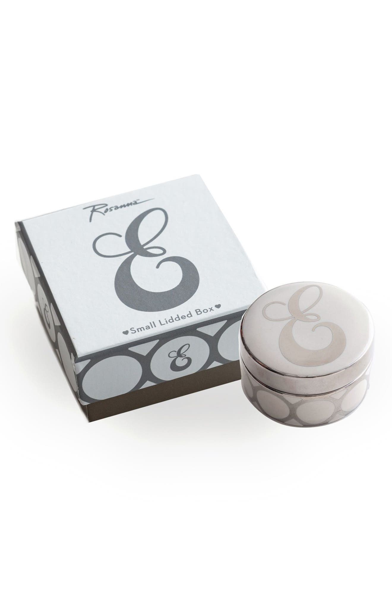Rosanna Mini Monogram Porcelain Box