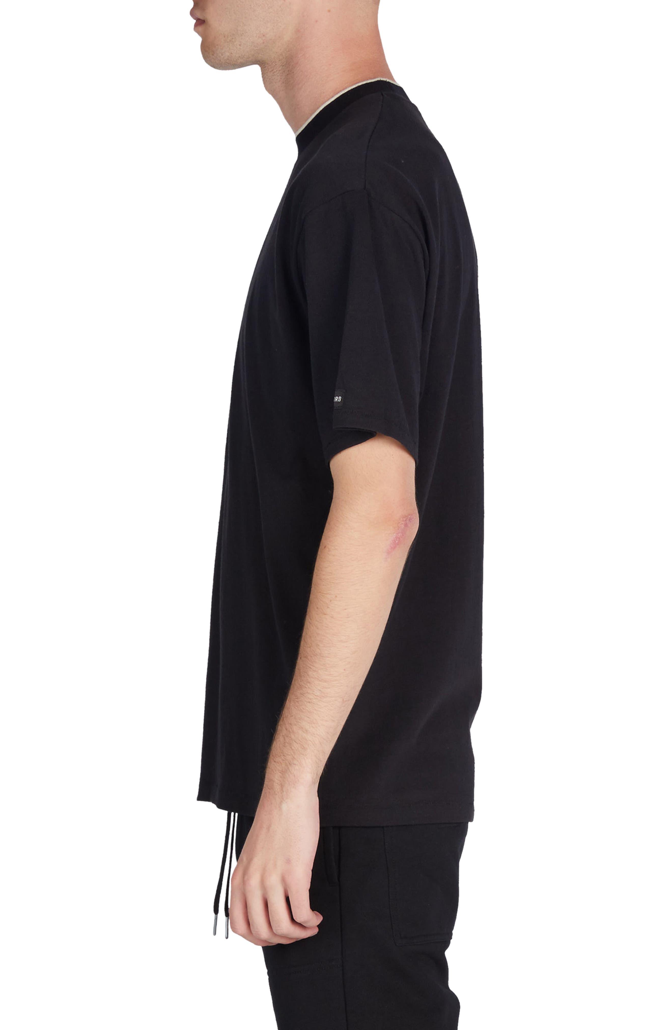 Tip Box T-Shirt,                             Alternate thumbnail 3, color,                             Black