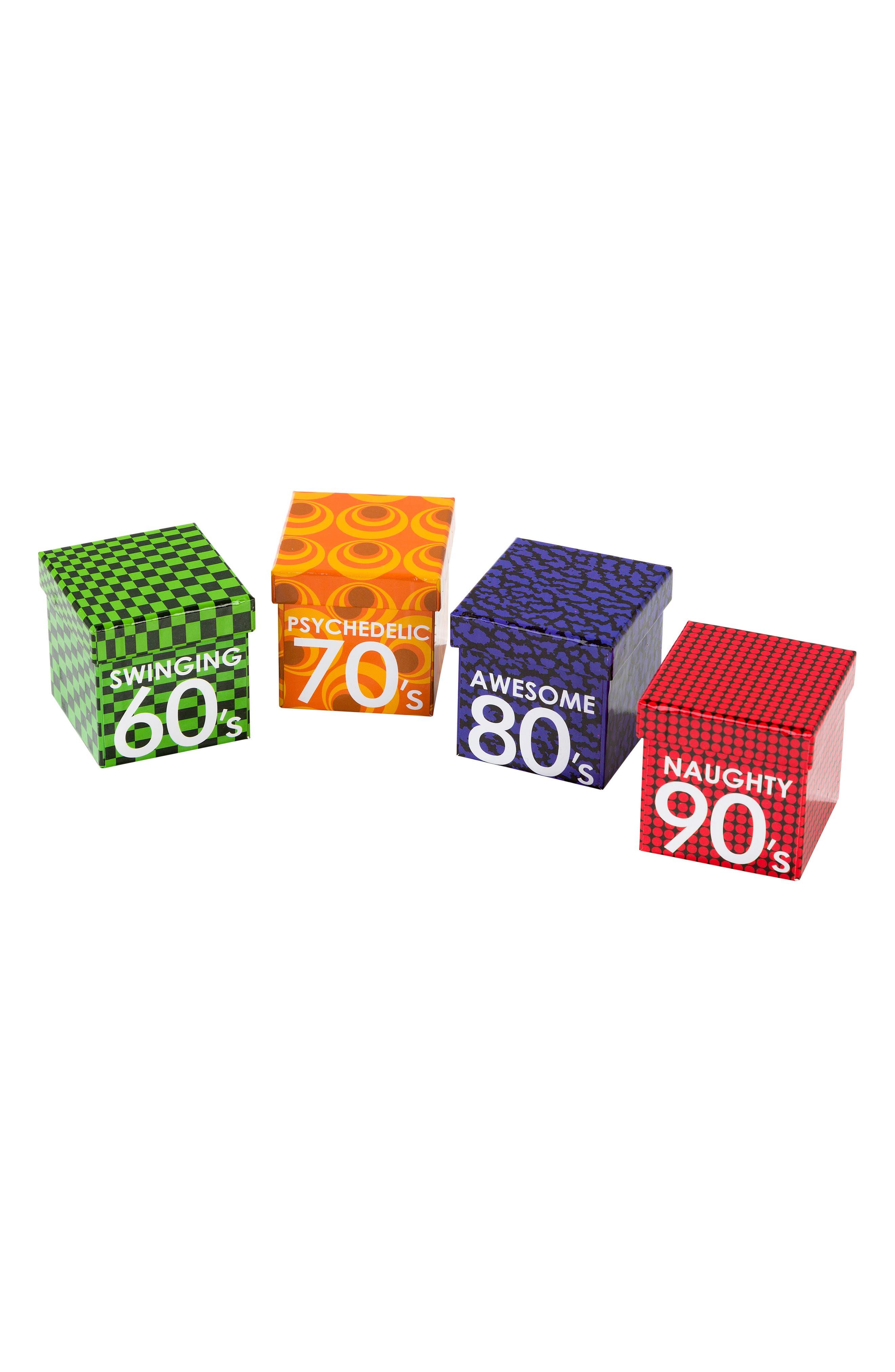 Talking Tables Decades of Fun Trivia Cards