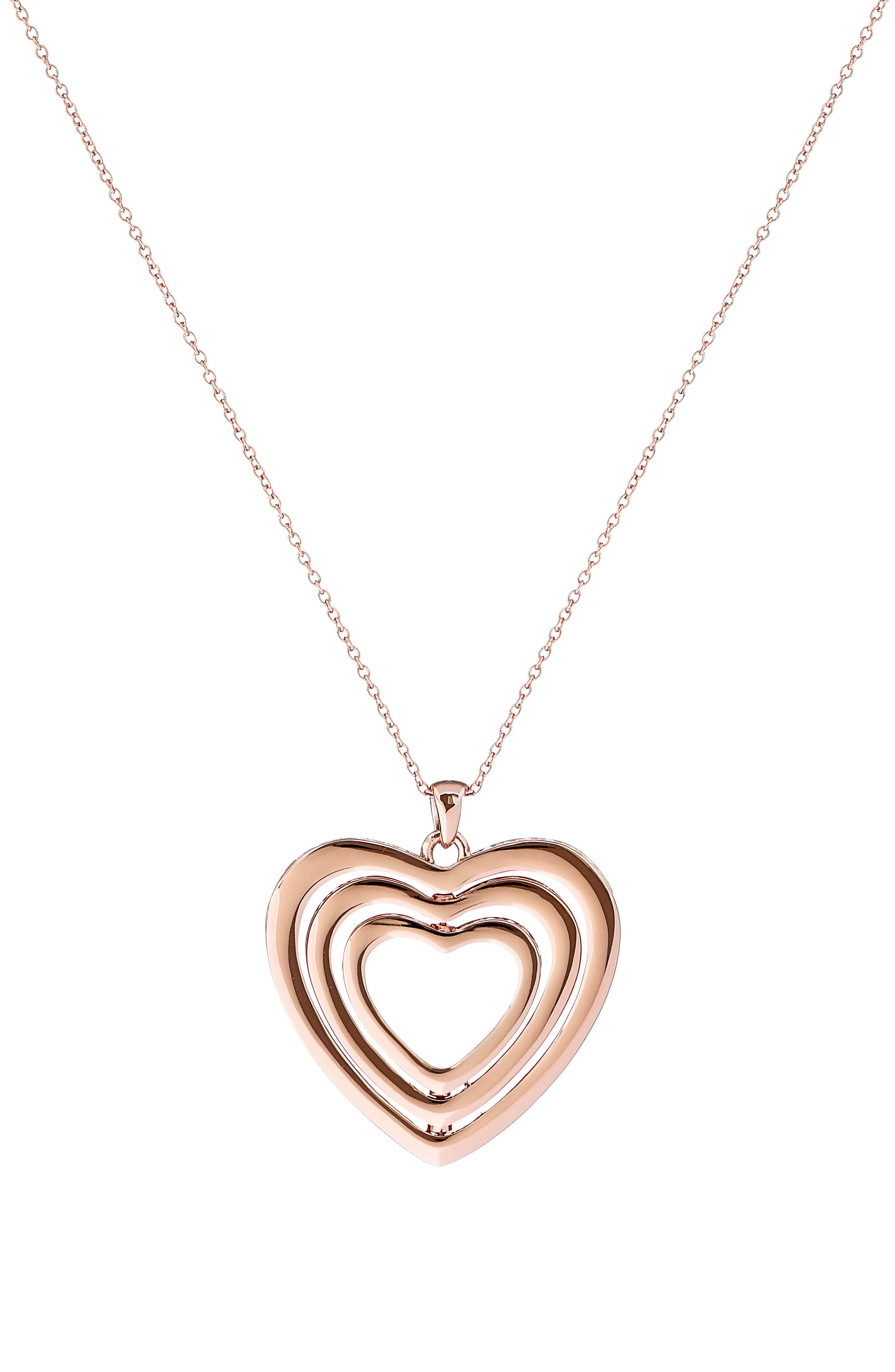 Ted Baker London Heart Pendant Necklace