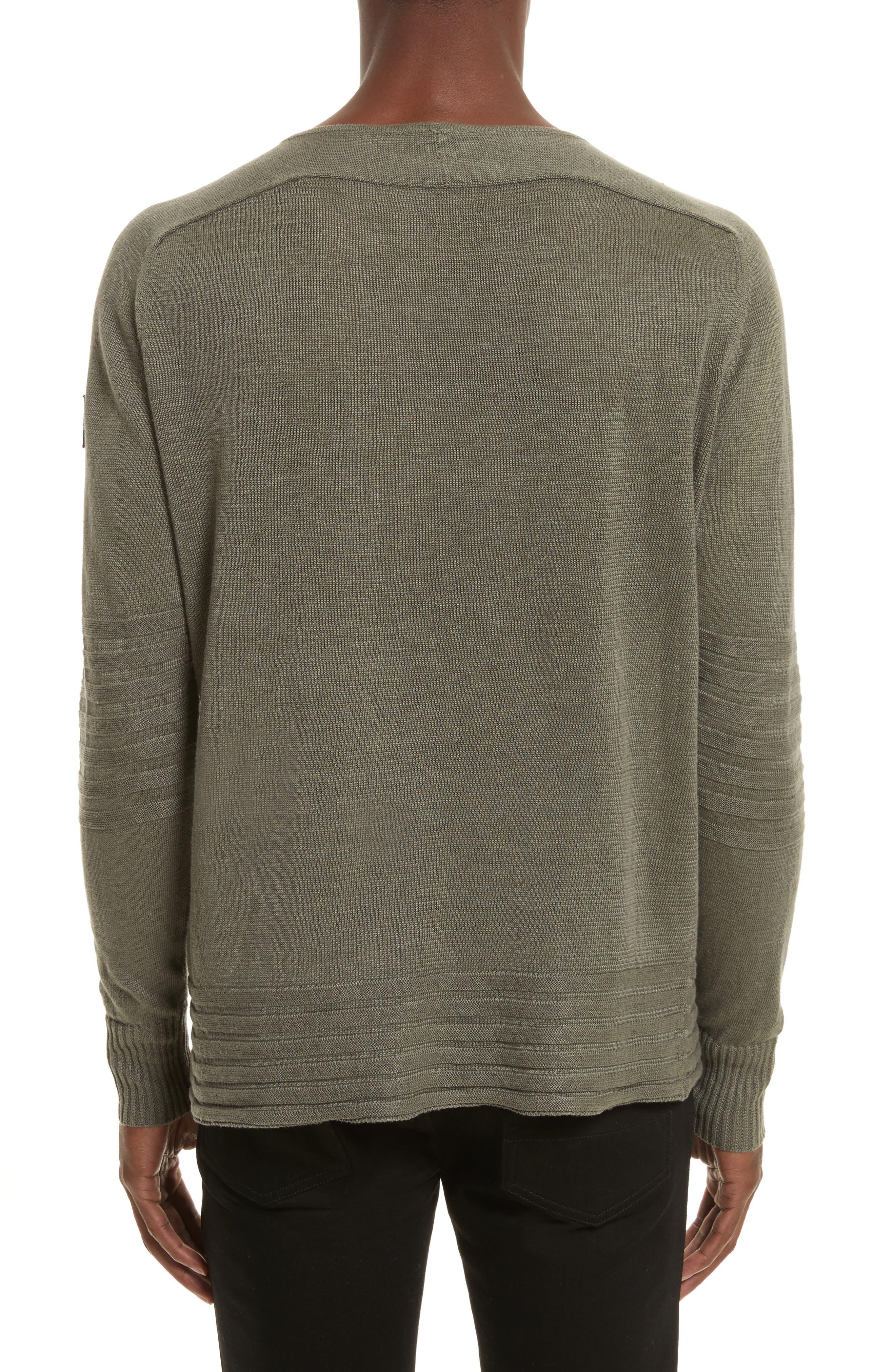 Alternate Image 2  - Belstaff Exford Linen Crewneck Sweater
