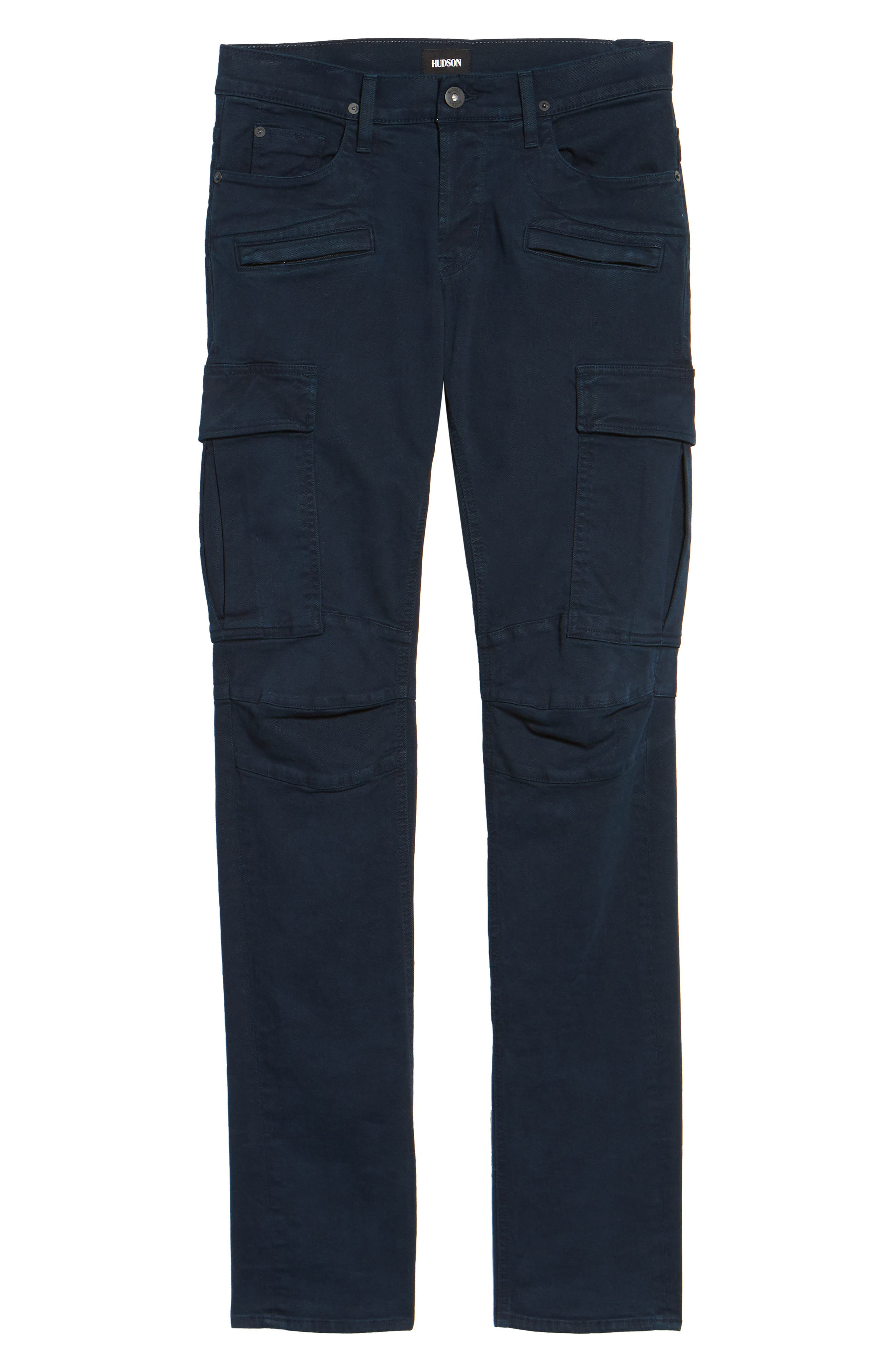 Greyson Cargo Biker Skinny Fit Jeans,                             Alternate thumbnail 6, color,                             Ink