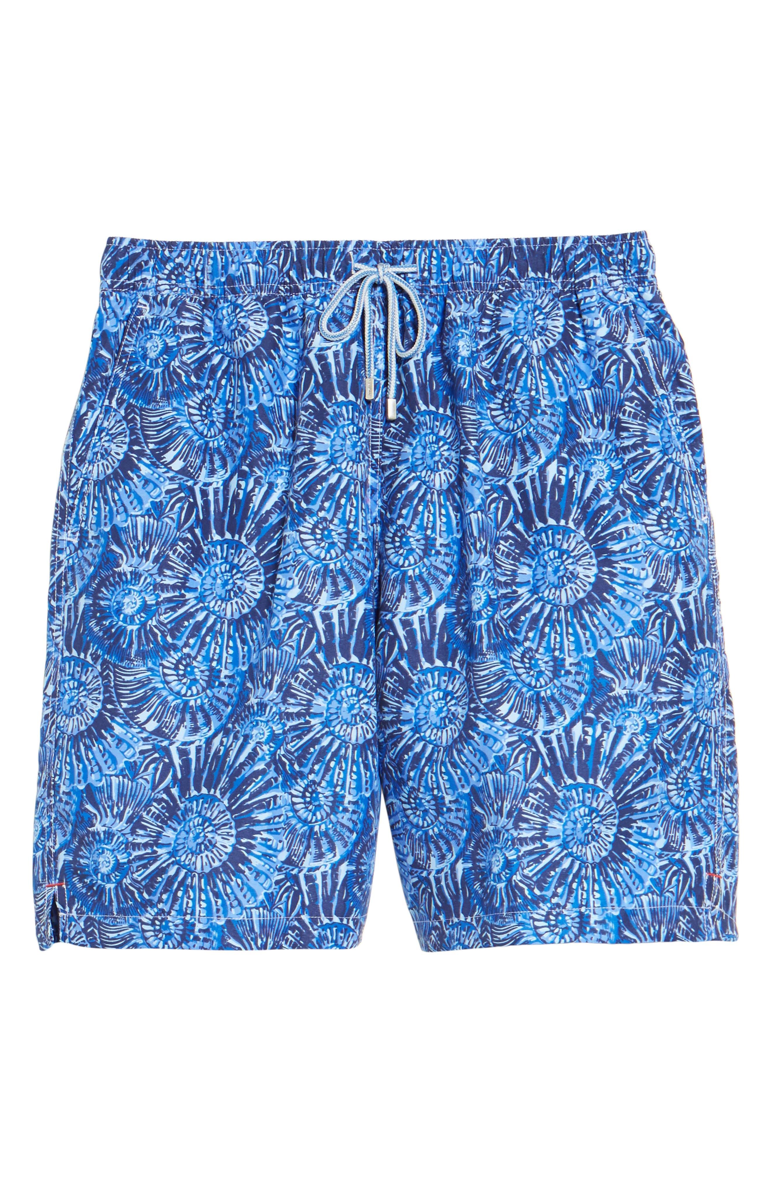 Alternate Image 6  - Peter Millar Tabby Shells Swim Trunks