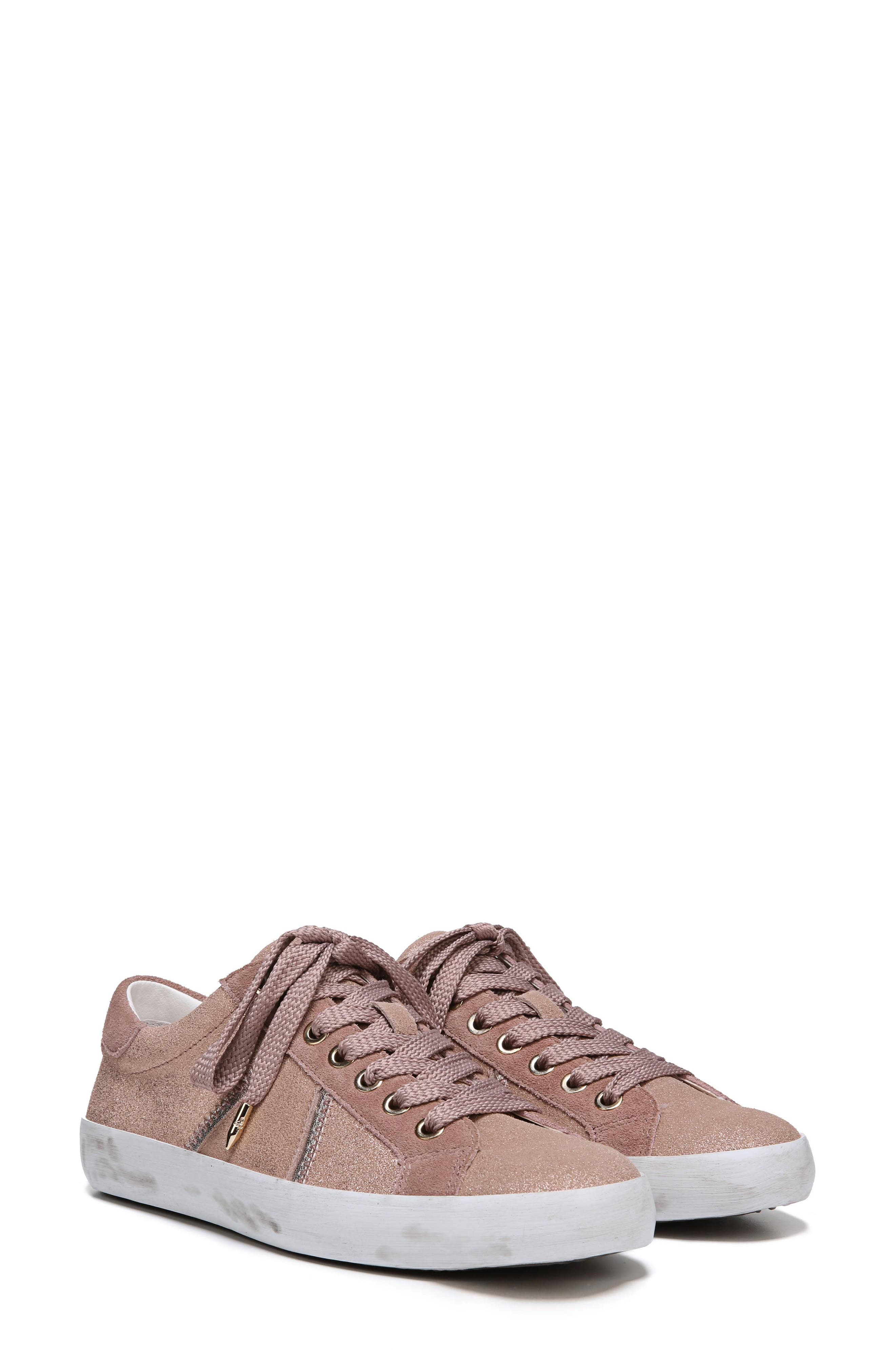 Baylee Sneaker,                             Alternate thumbnail 9, color,                             Blush Suede