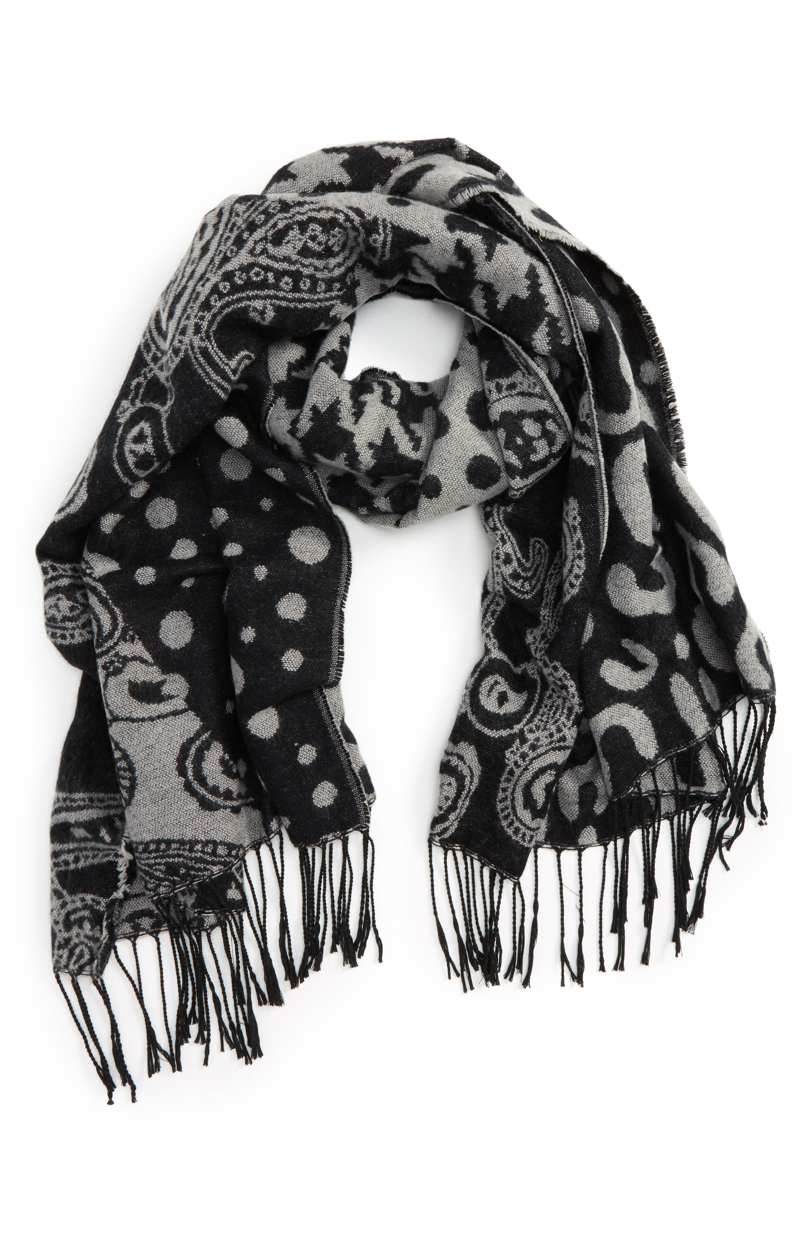 Accessory Collective Mix Animal Print Scarf