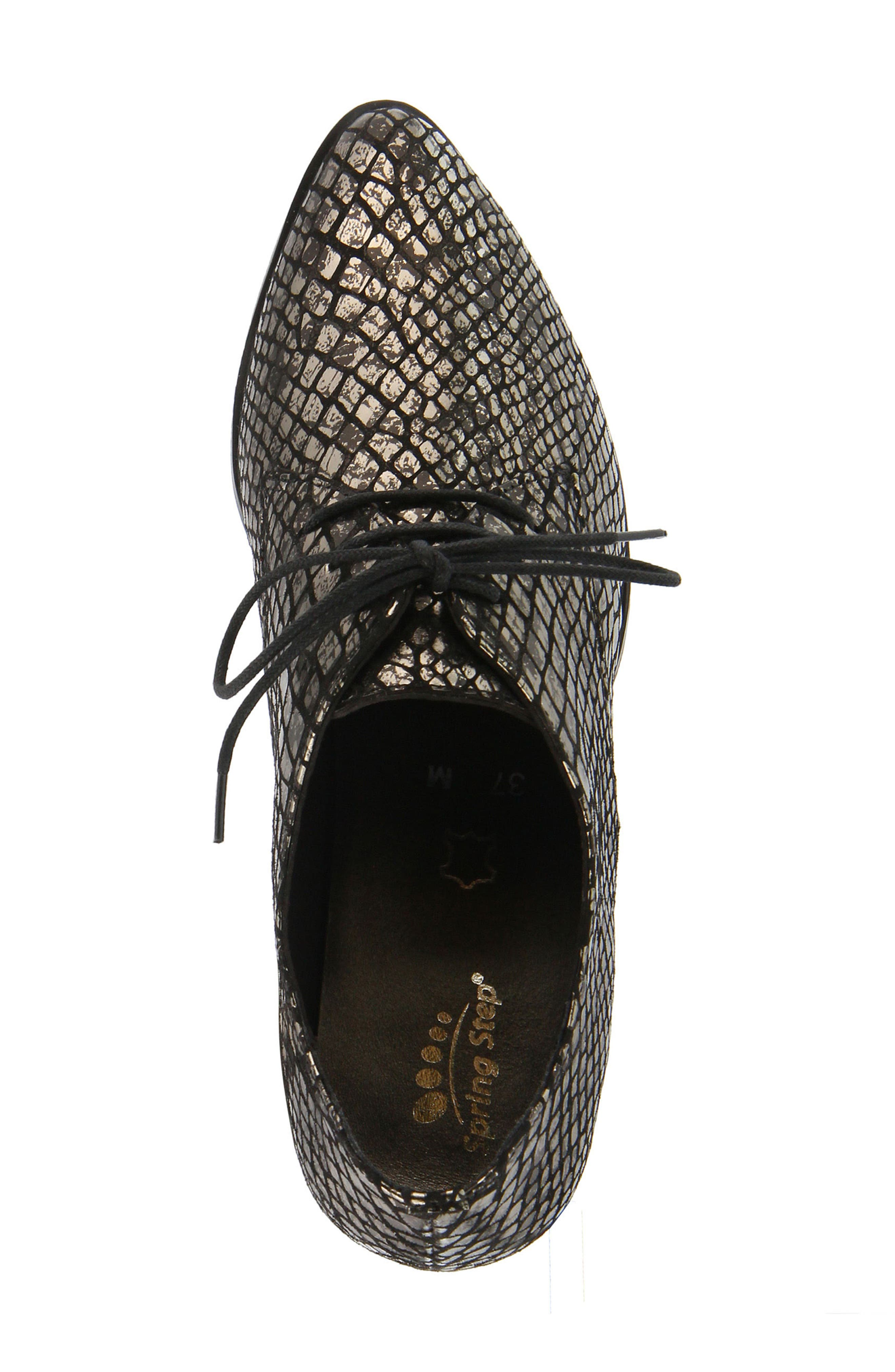 Alternate Image 4  - Spring Step Conchetta Lace-Up Derby (Women)