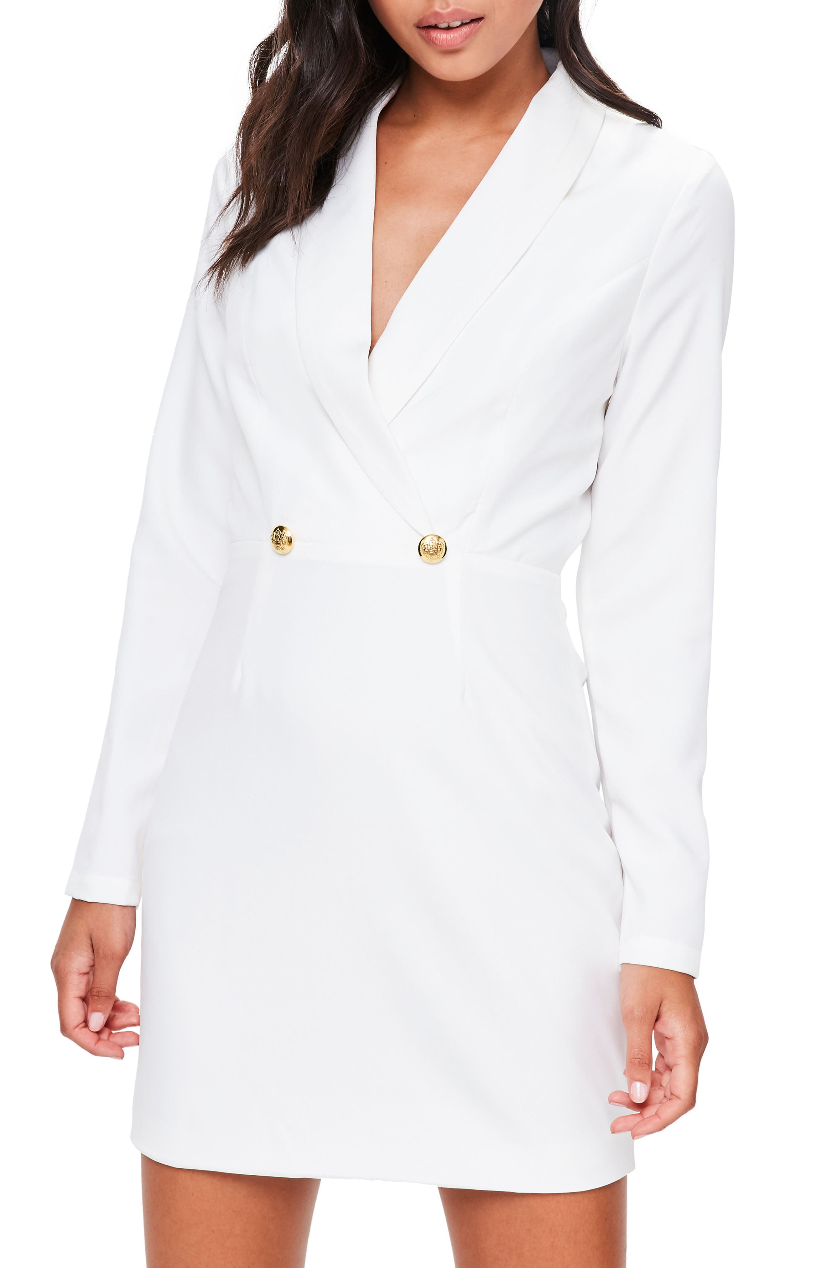 Missguided Tuxedo Jacket Dress