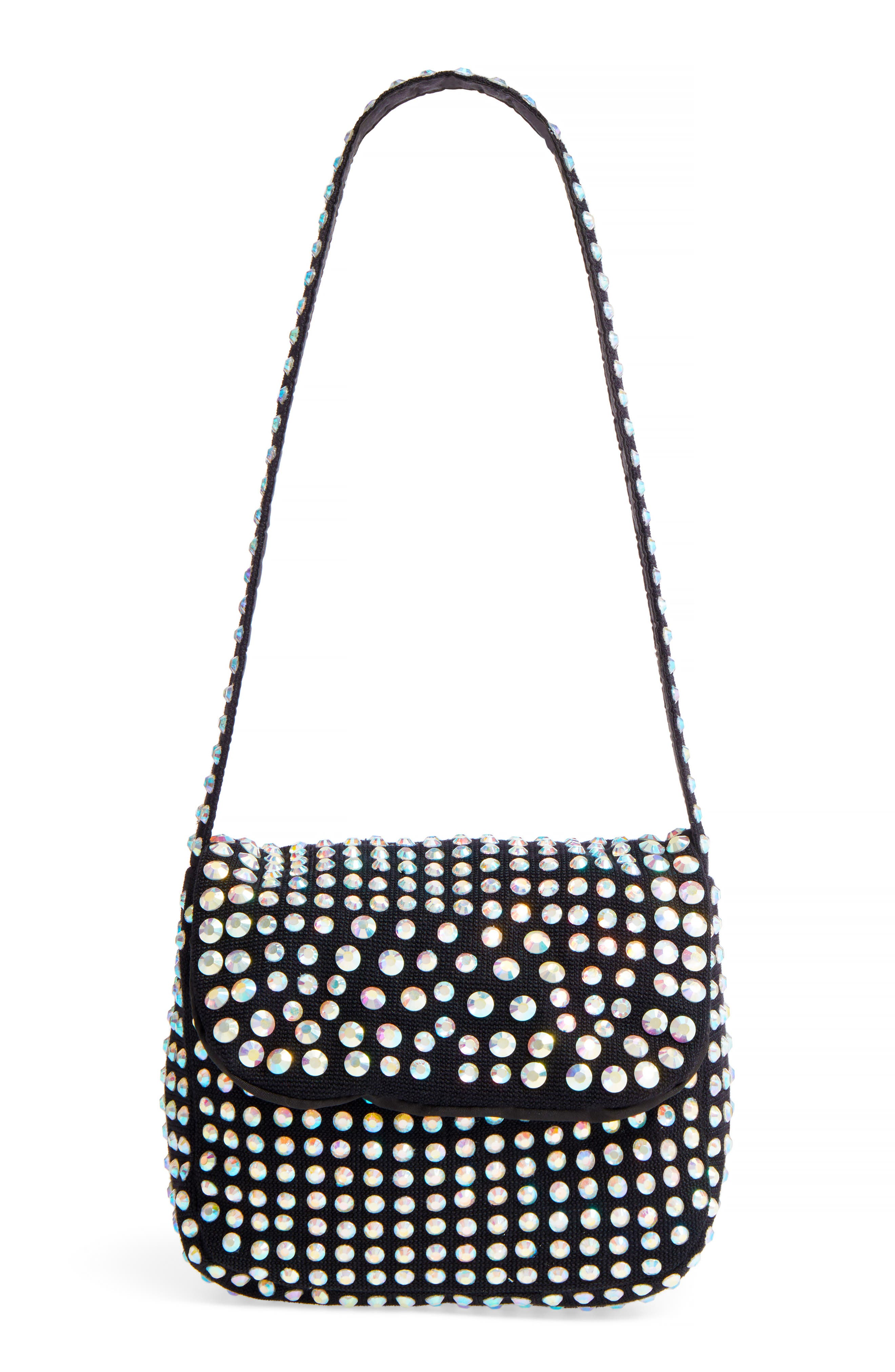Topshop Kiki Embellished Shoulder Bag