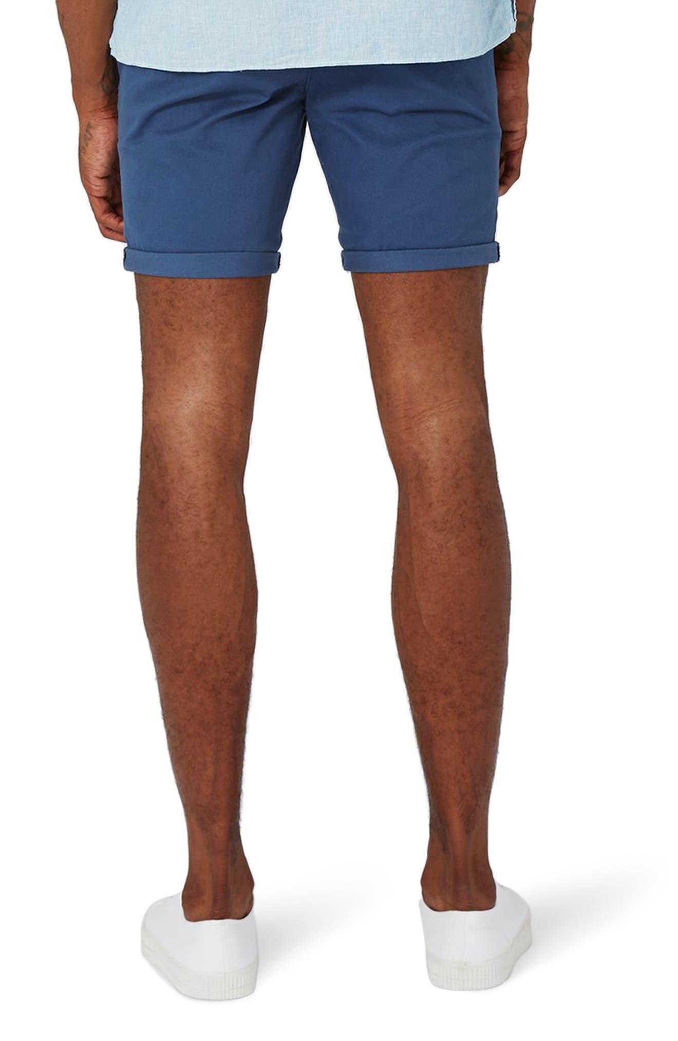 Alternate Image 2  - Topman Stretch Skinny Fit Chino Shorts