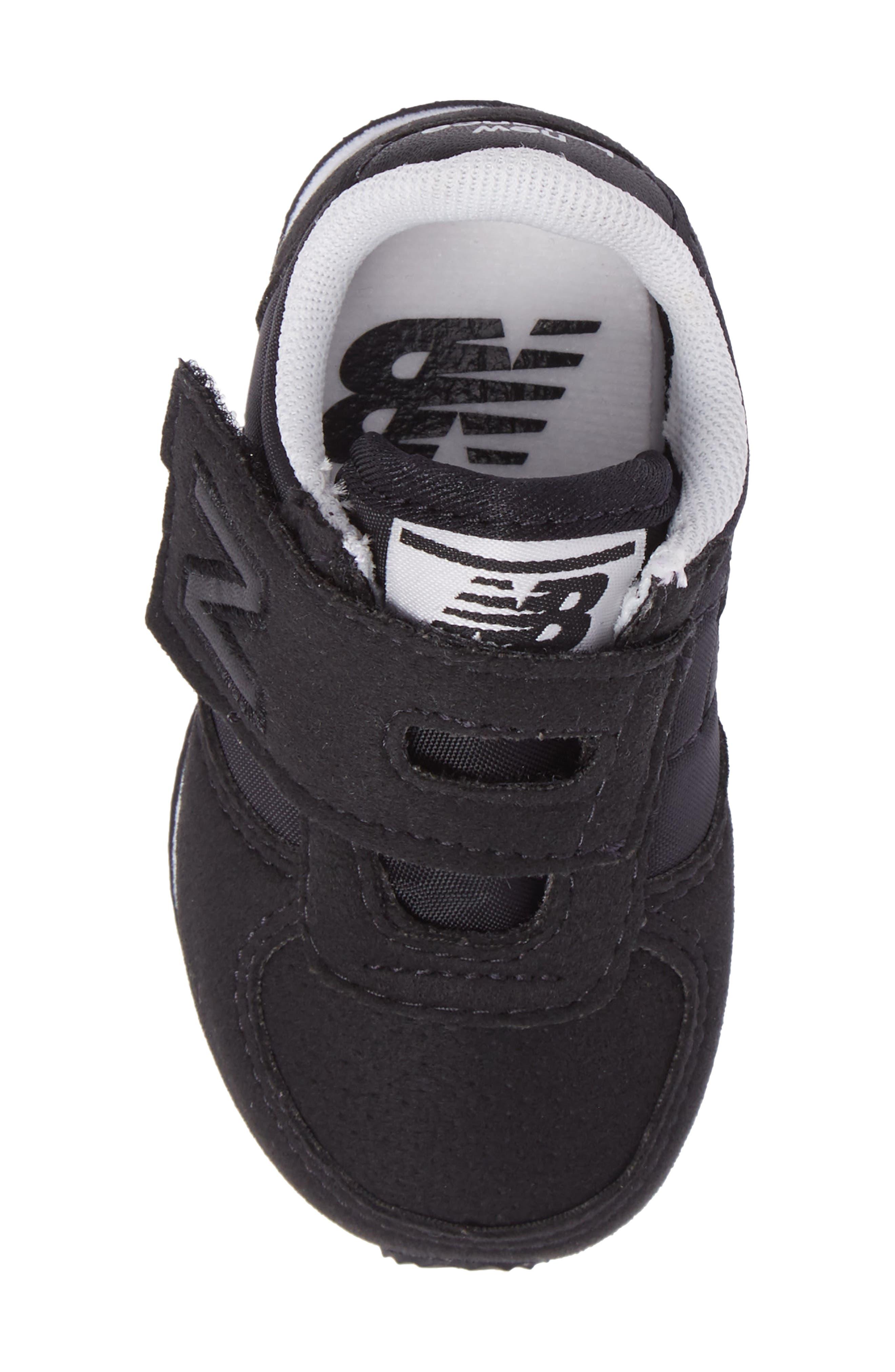 220 Hook and Loop Sneaker,                             Alternate thumbnail 5, color,                             Black