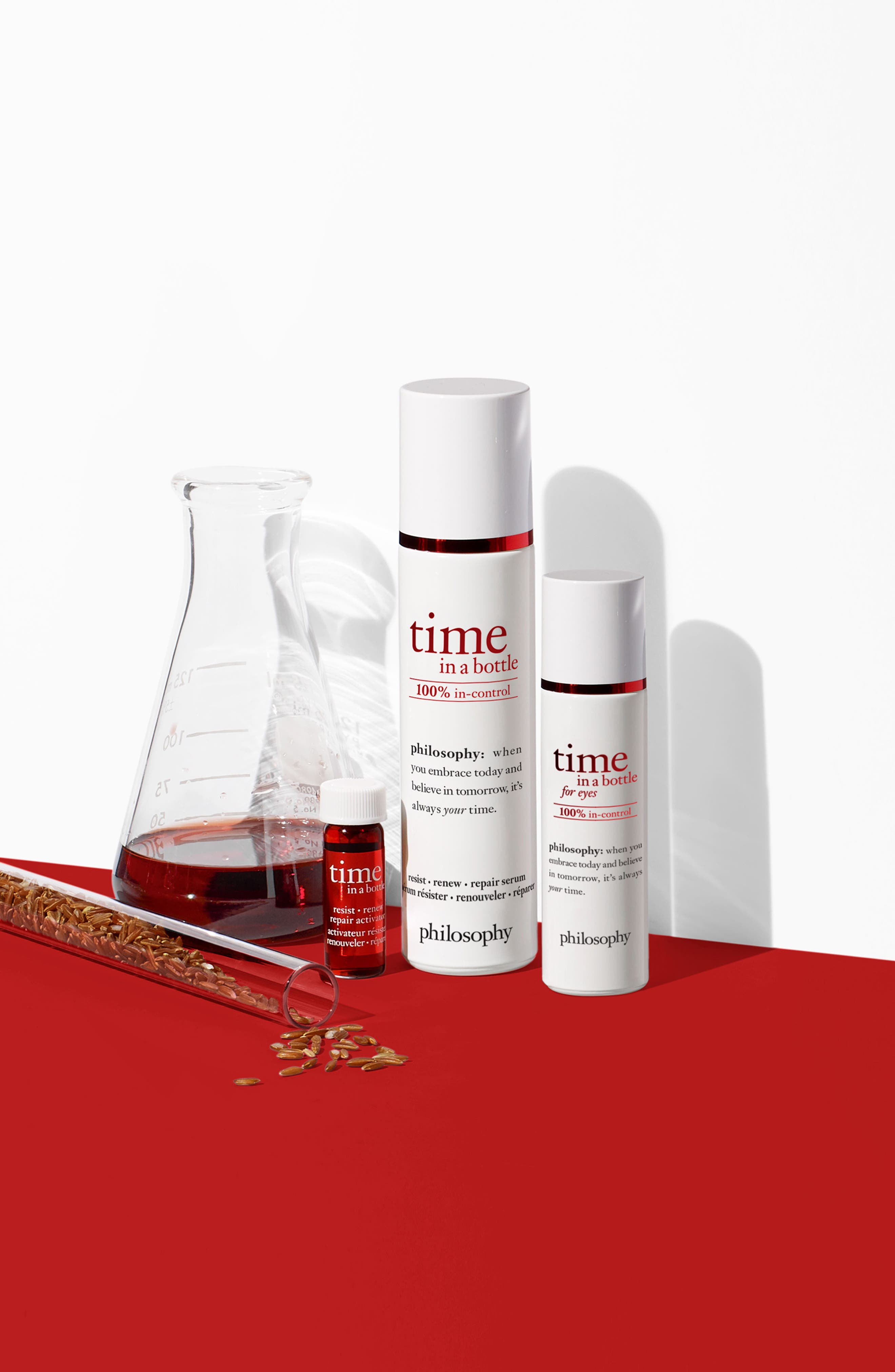 Alternate Image 4  - philosophy time in a bottle face serum