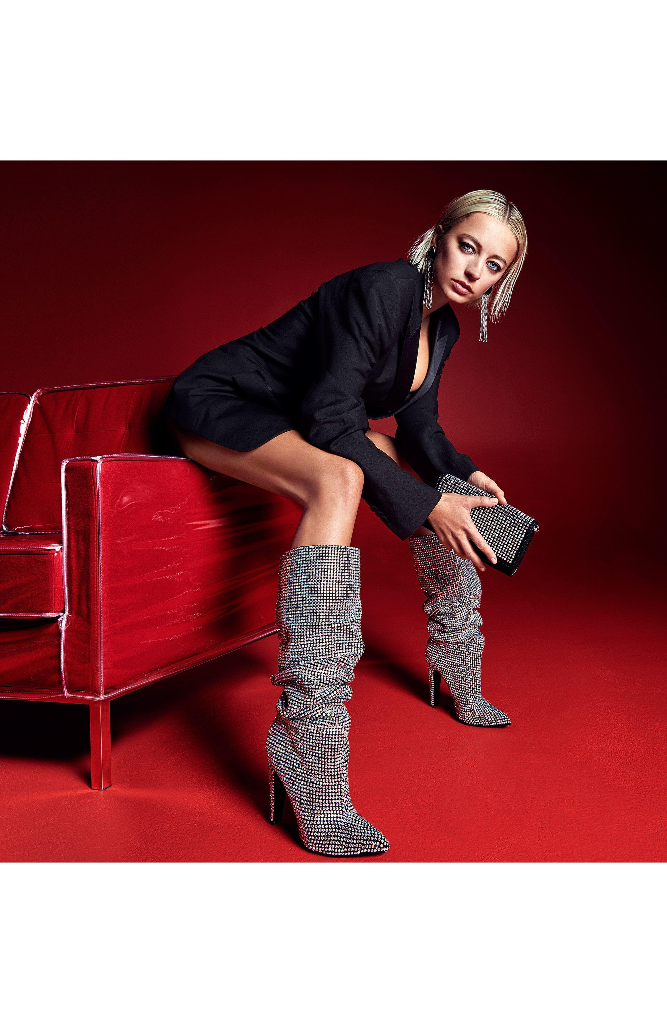 Alternate Image 8  - Steve Madden Crushing Embellished Boot (Women)
