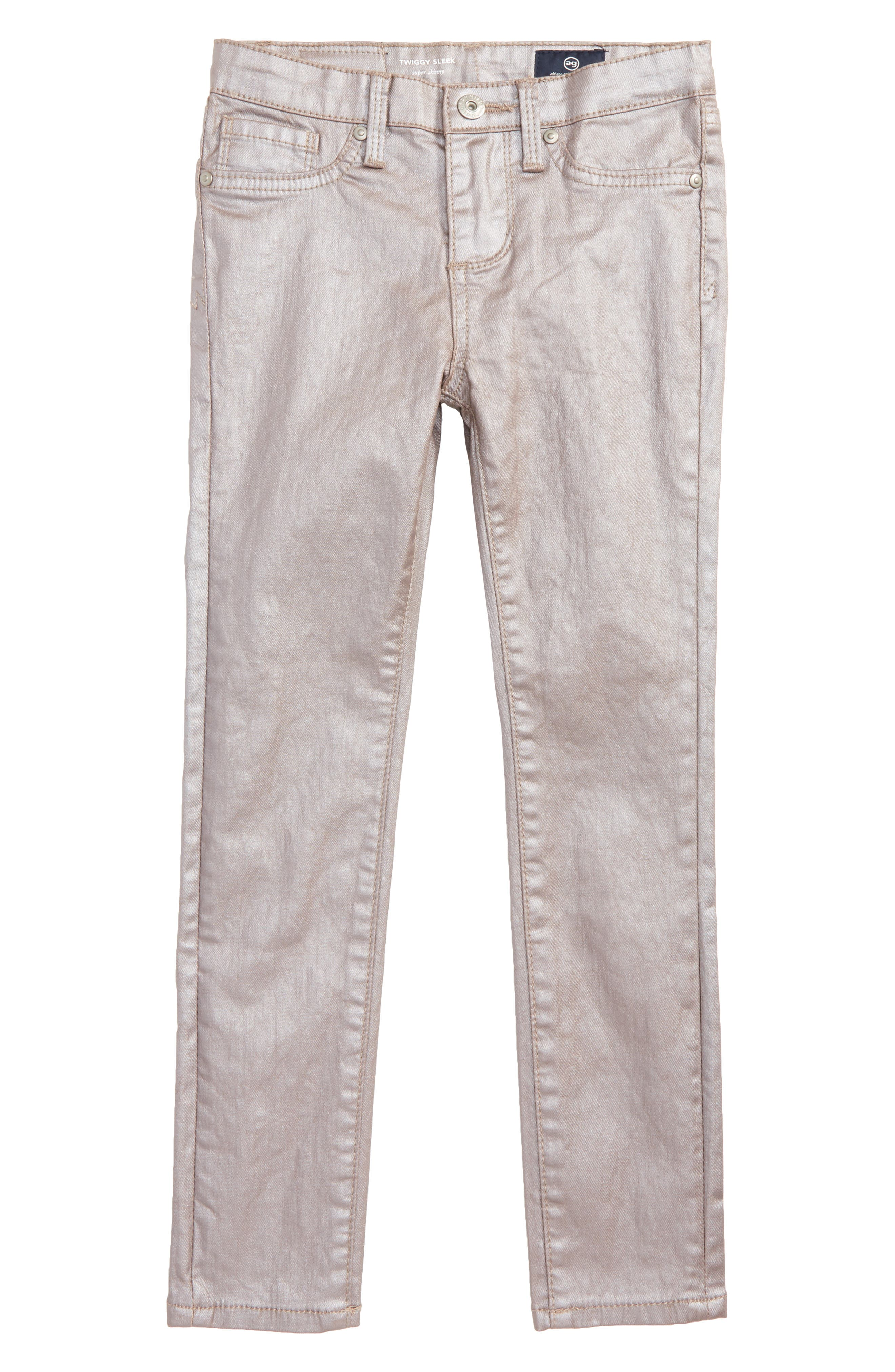 Main Image - ag adriano goldschmied kids The Sleek Twiggy Skinny Ankle Jeans (Toddler Girls & Little Girls)