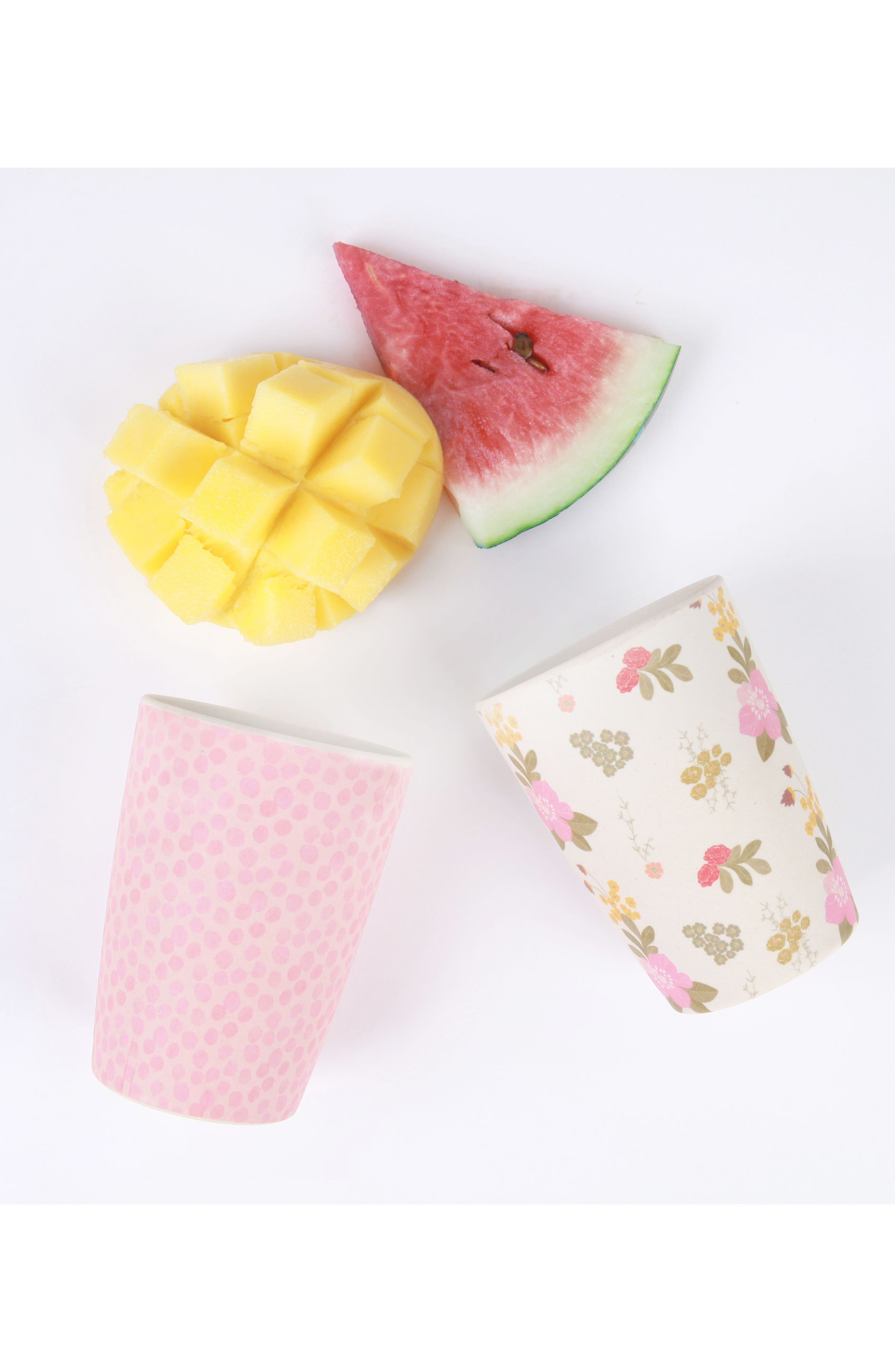 4-Pack Tumblers,                             Alternate thumbnail 2, color,                             Floral And Pink