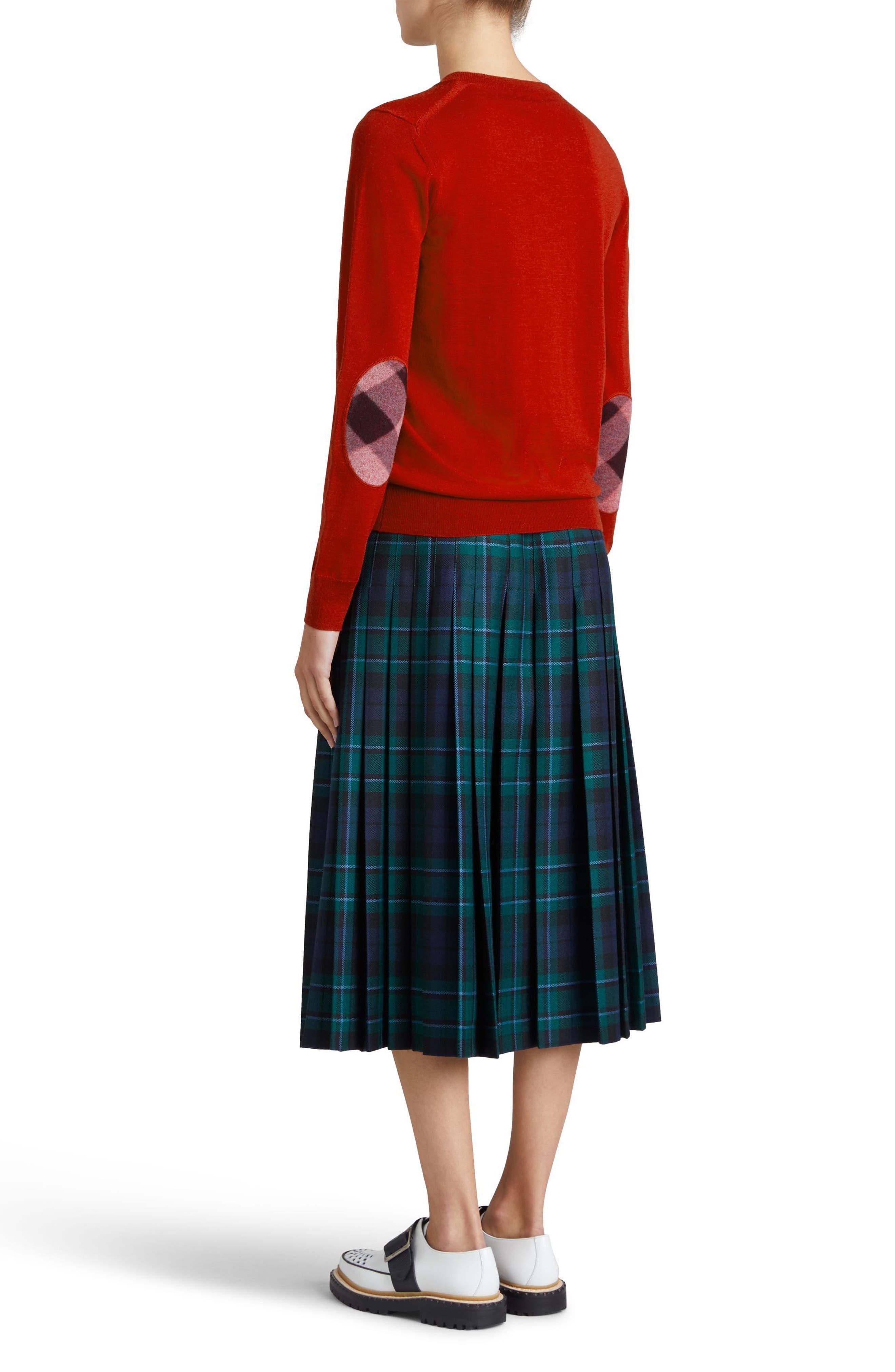Alternate Image 3  - Burberry Viar Merino Wool Sweater