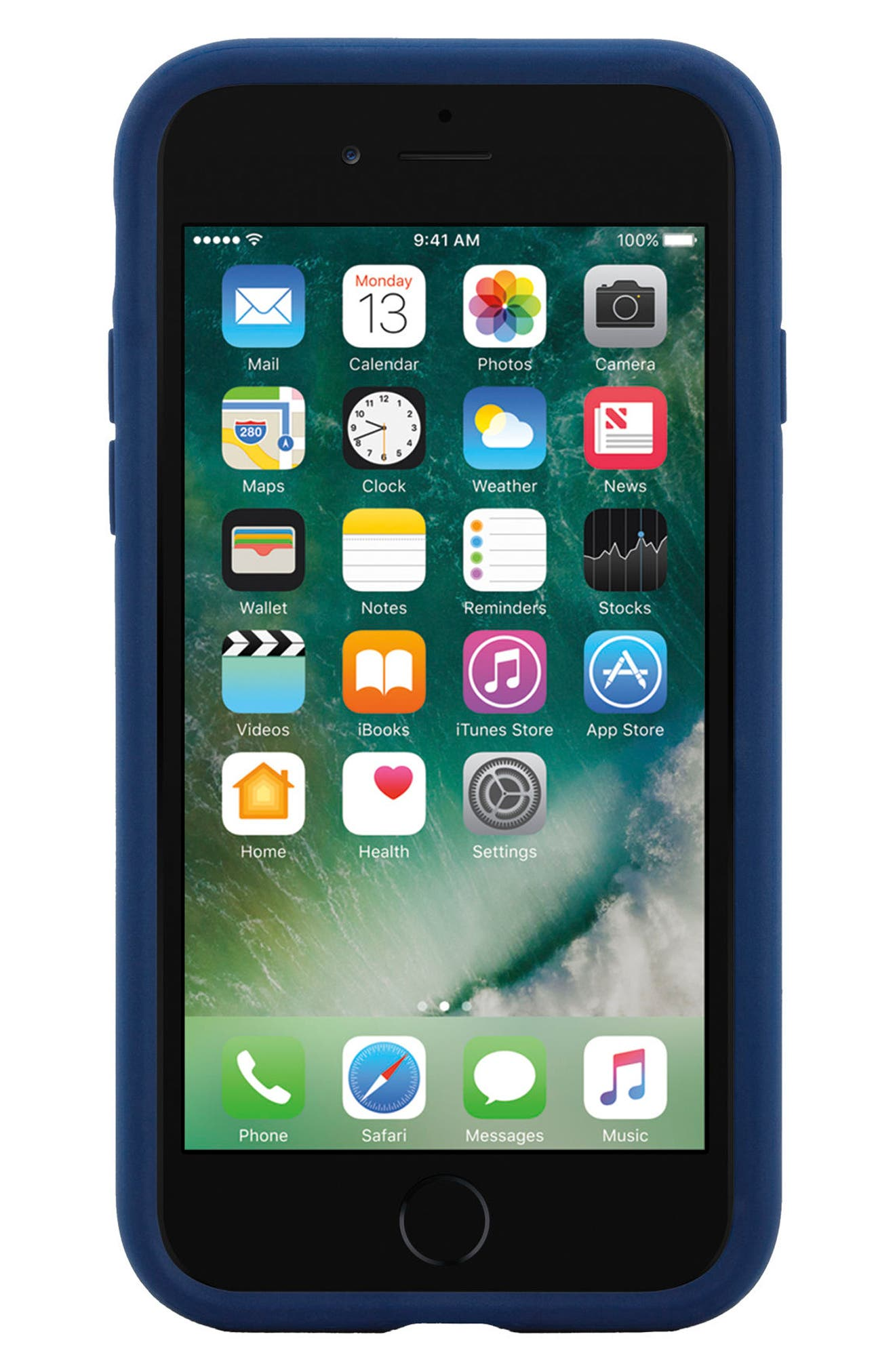 Icon iPhone 7 & 8 Case,                             Alternate thumbnail 7, color,                             Navy