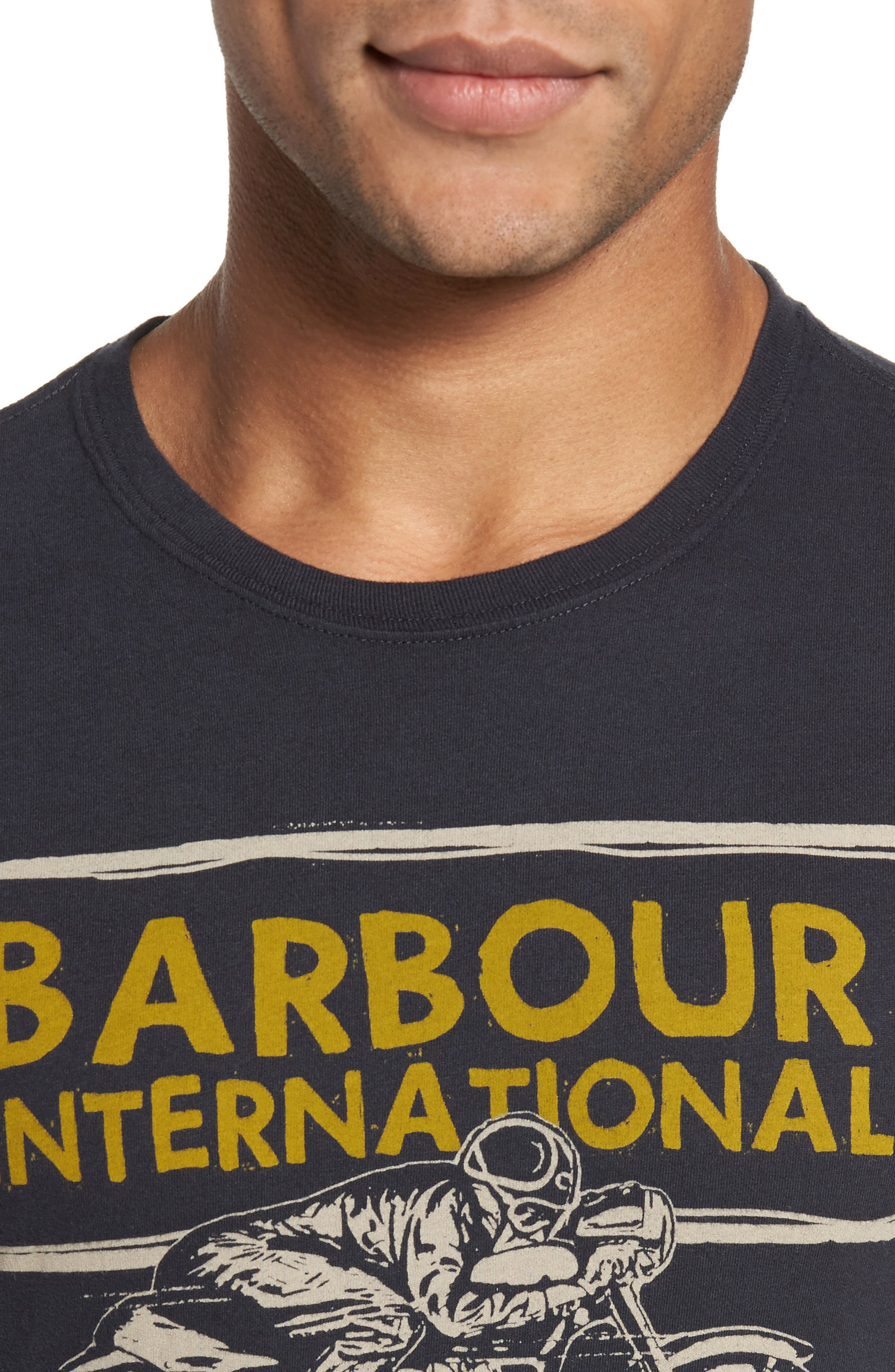 Alternate Image 4  - Barbour Barbour International Pace T-Shirt